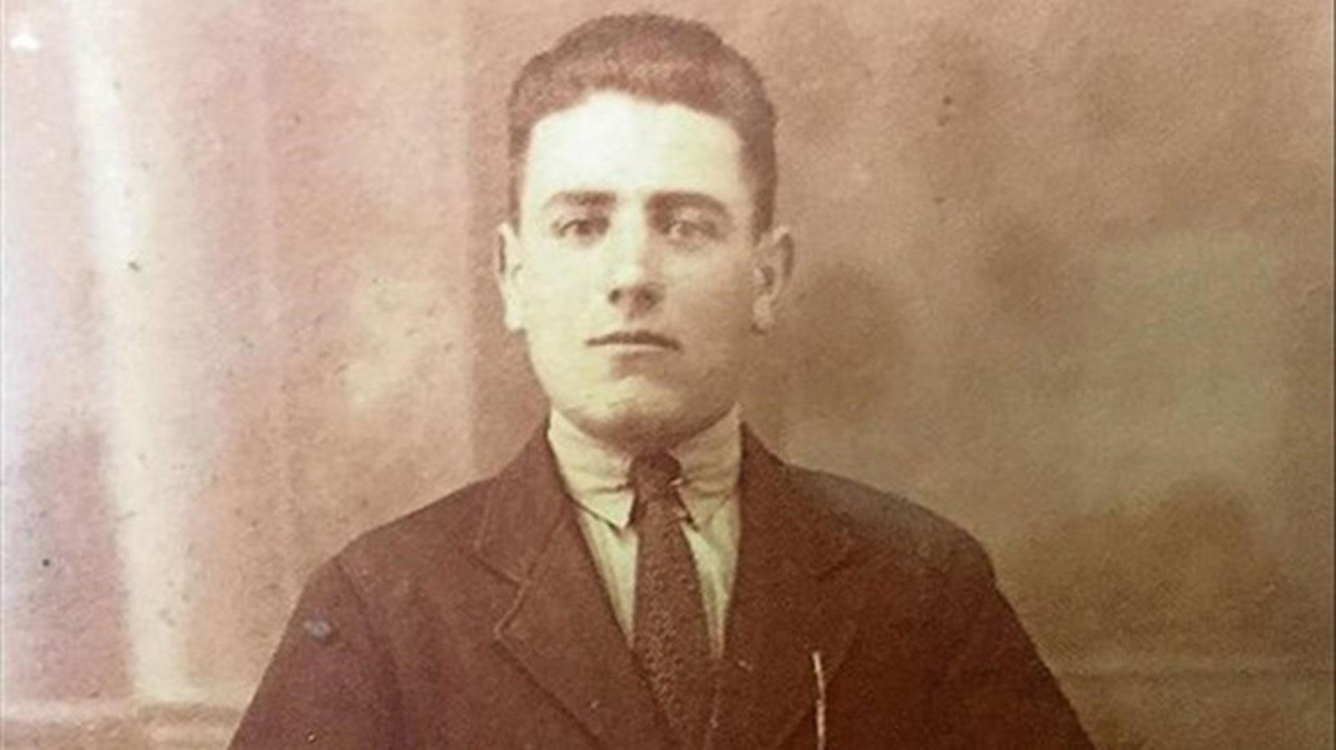 Francisco Olivera de joven (EFE)