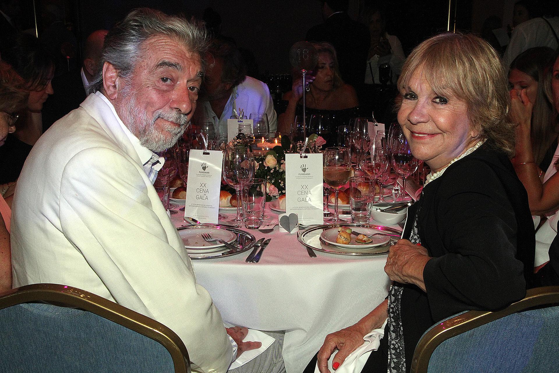 Virginia Lago y su marido Héctor Gióvine