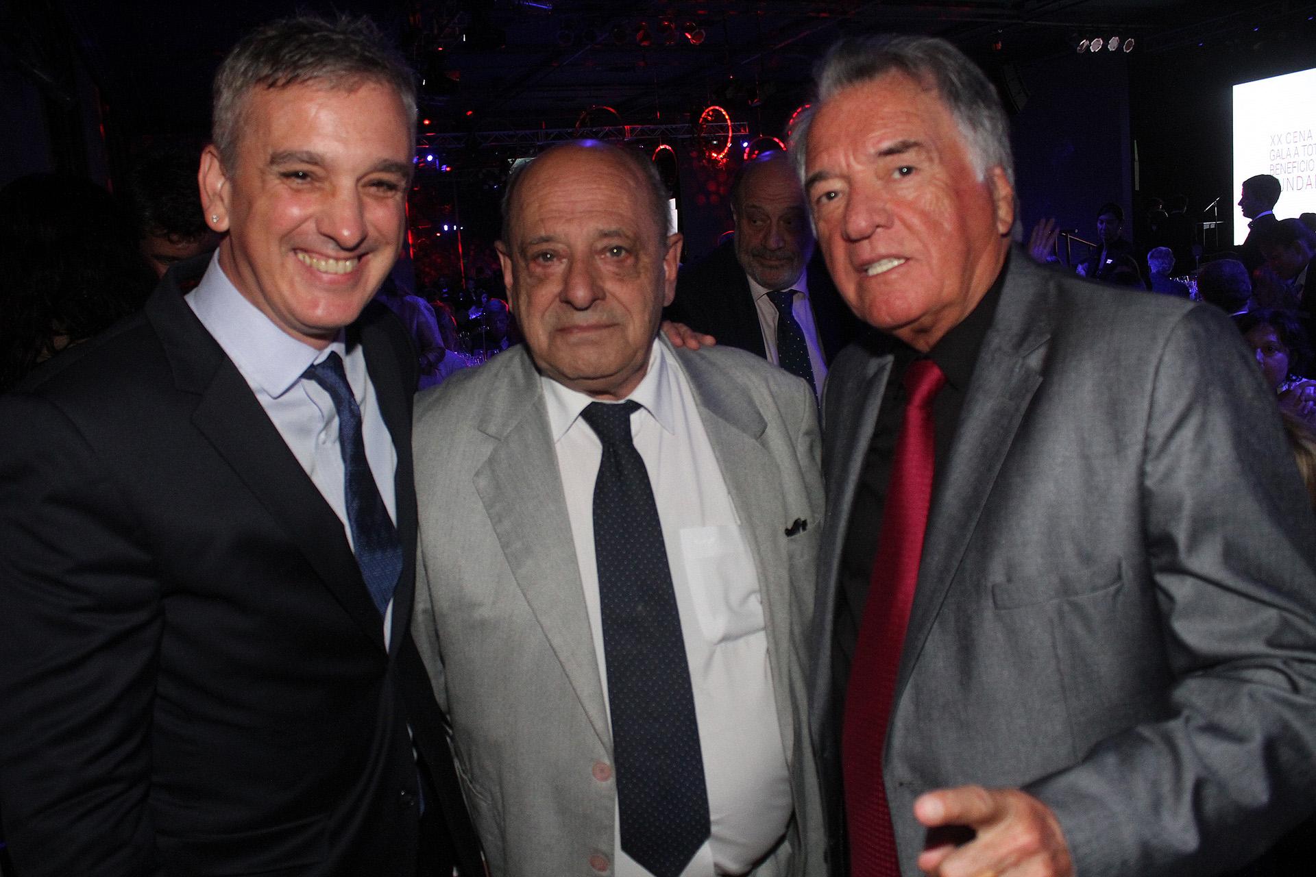 Marcelo González, Carlos Fernando Arroyo y Luis Barrionuevo