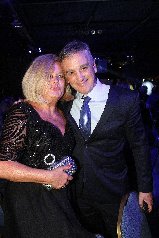 Martha González y el empresario Marcelo González