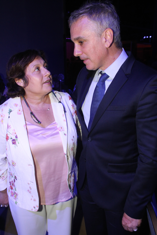 María Graciela Ocaña y Marcelo González