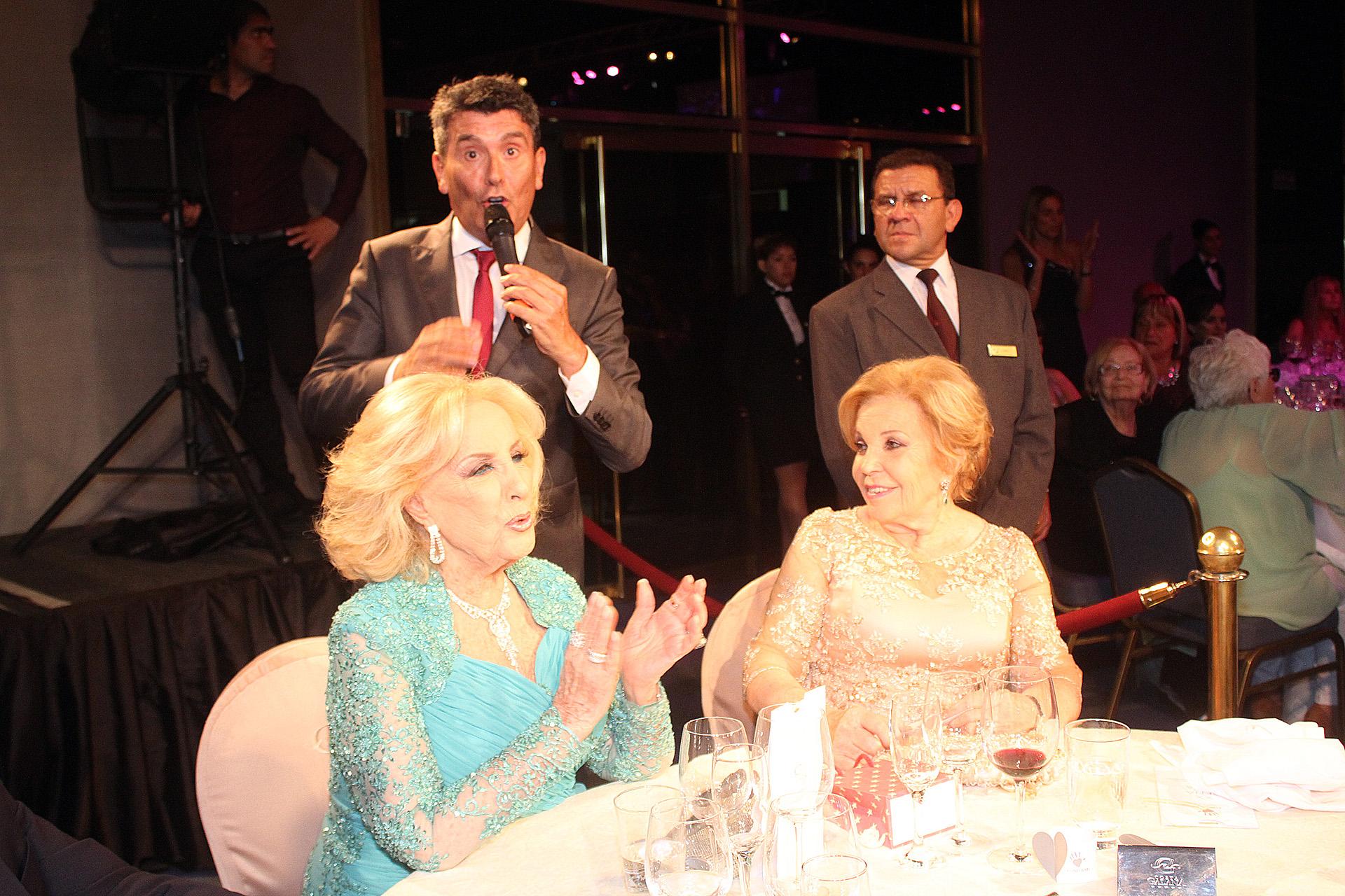 Miguel Ángel Cherutti hizo un show humorístico