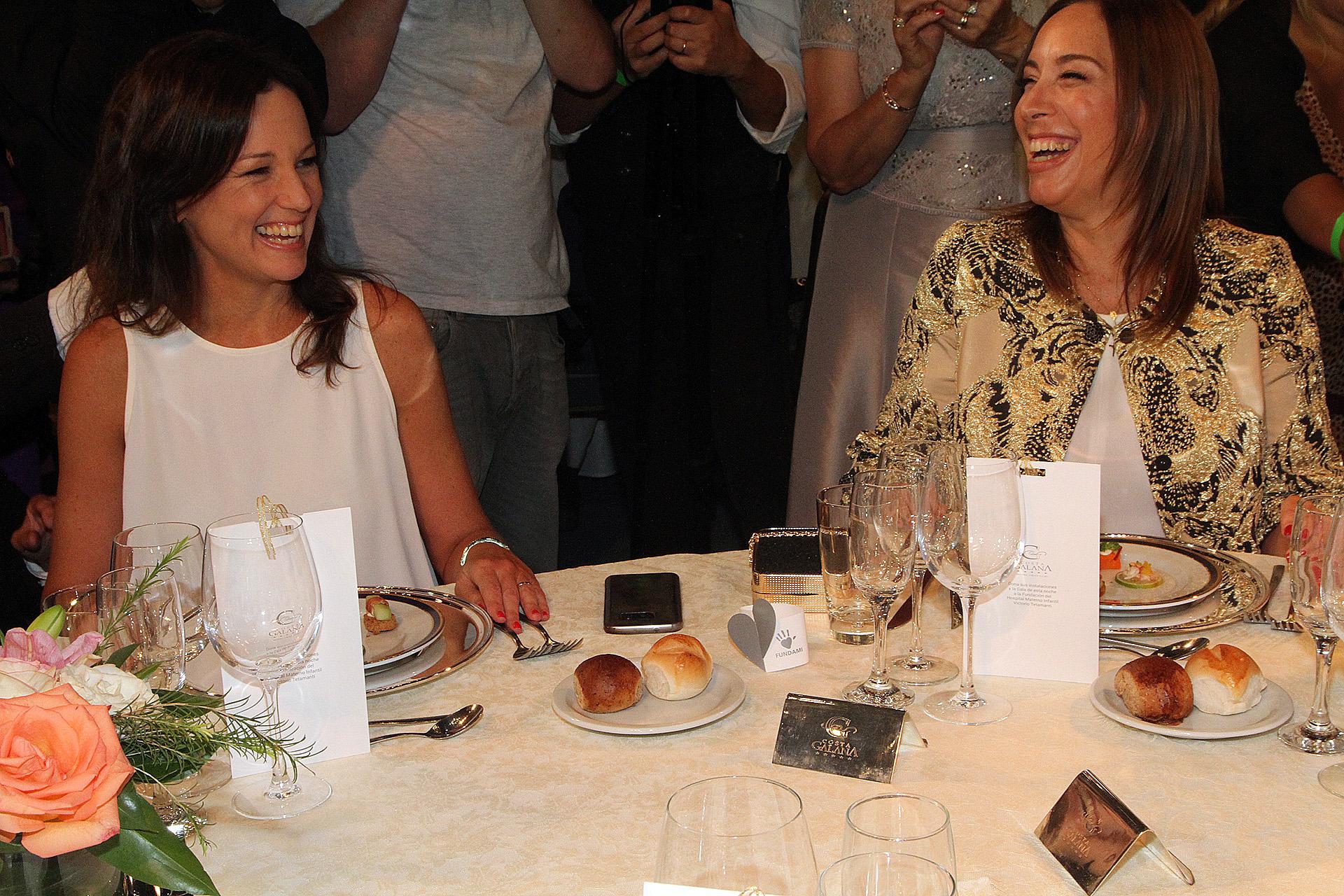 La ministra de Desarrollo Social Carolina Stanley y la gobernadora bonaerense María Eugenia Vidal