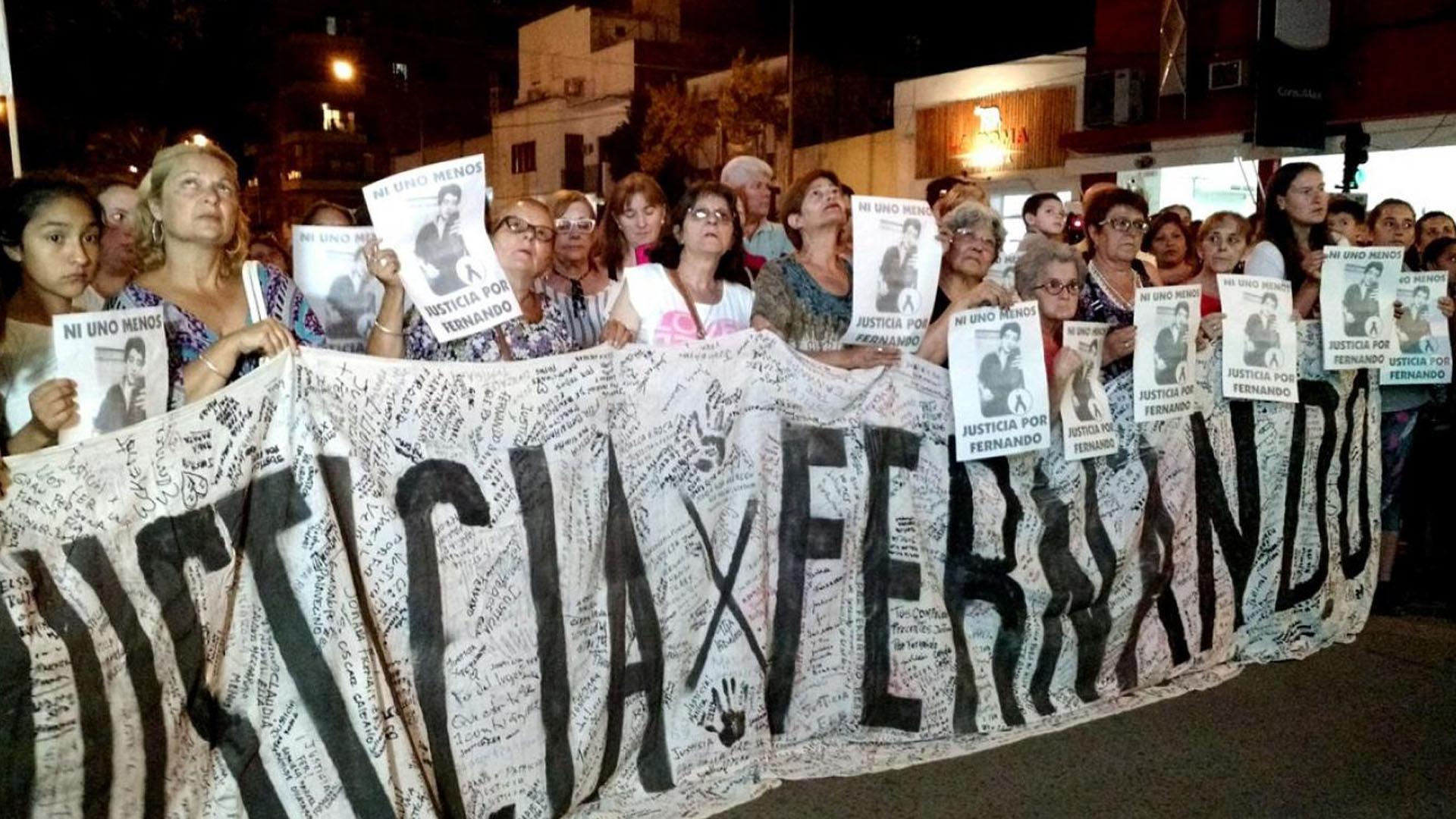 La marcha en Gualeguaychú (@domenech_news)