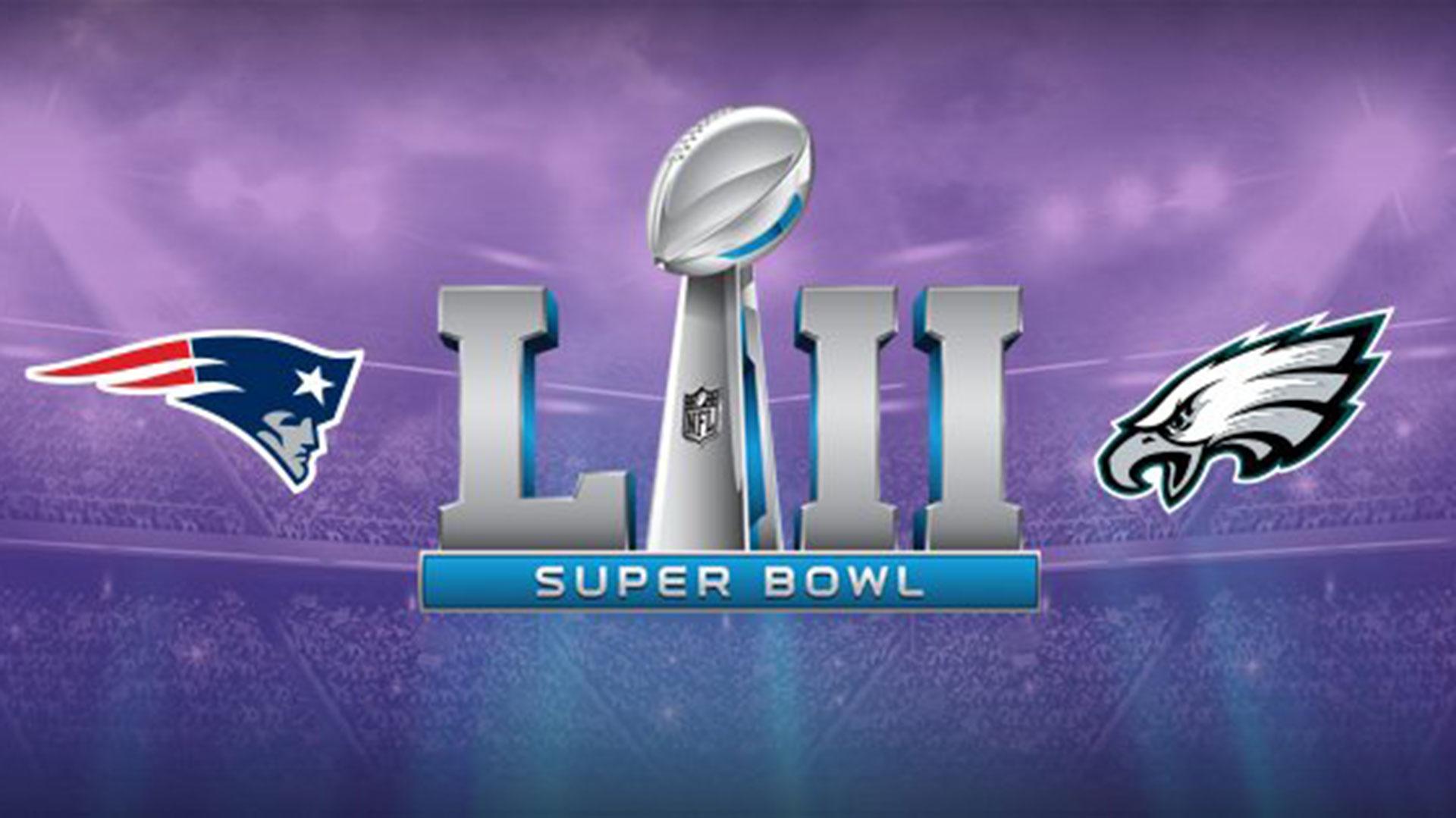 New England Patriots y Philadelphia Eagles se enfrentarán este domingo en el Super Bowl LII