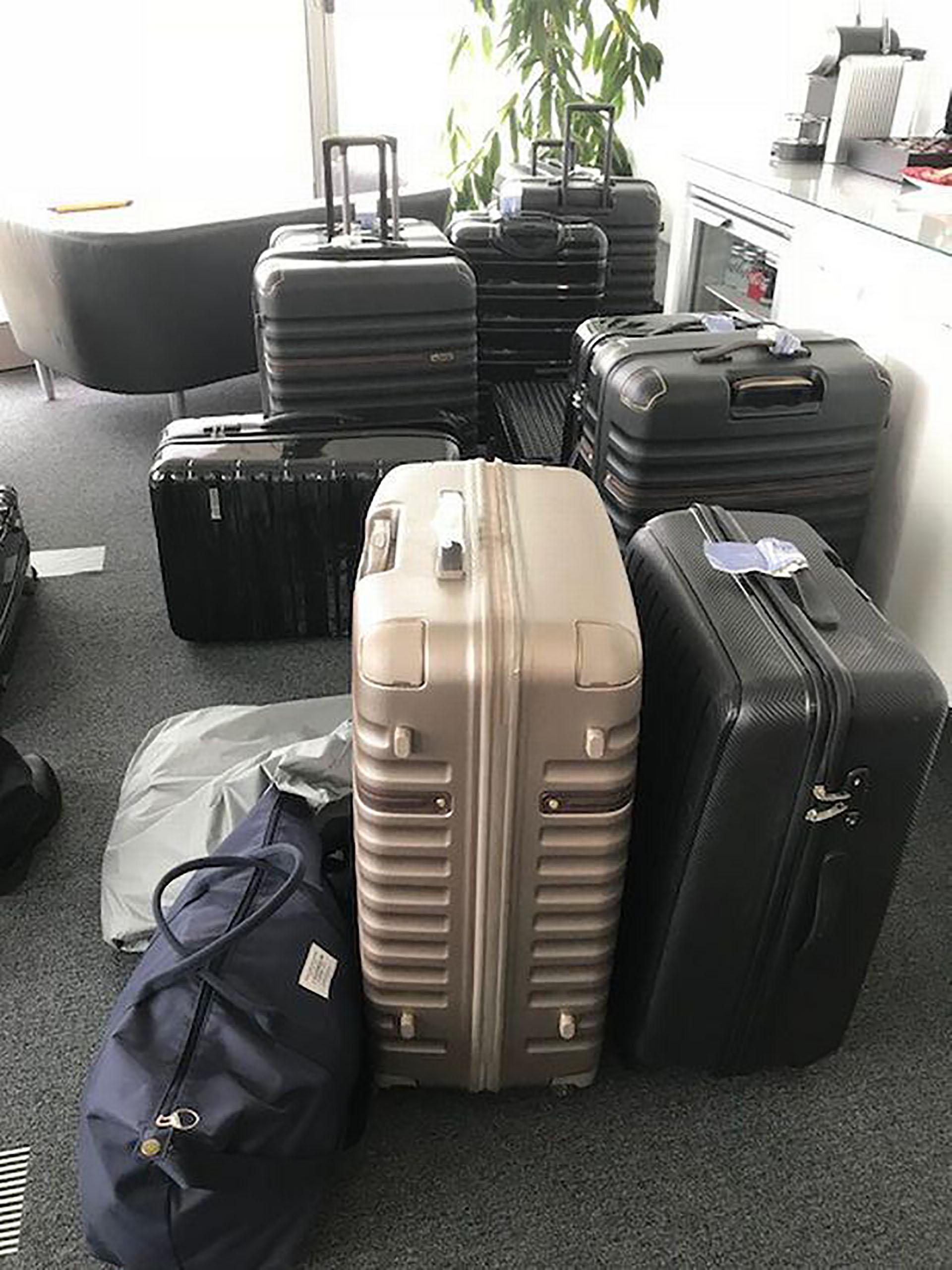 Las maletas donde se ocultó la cocaína (Home Office Reino Unido)