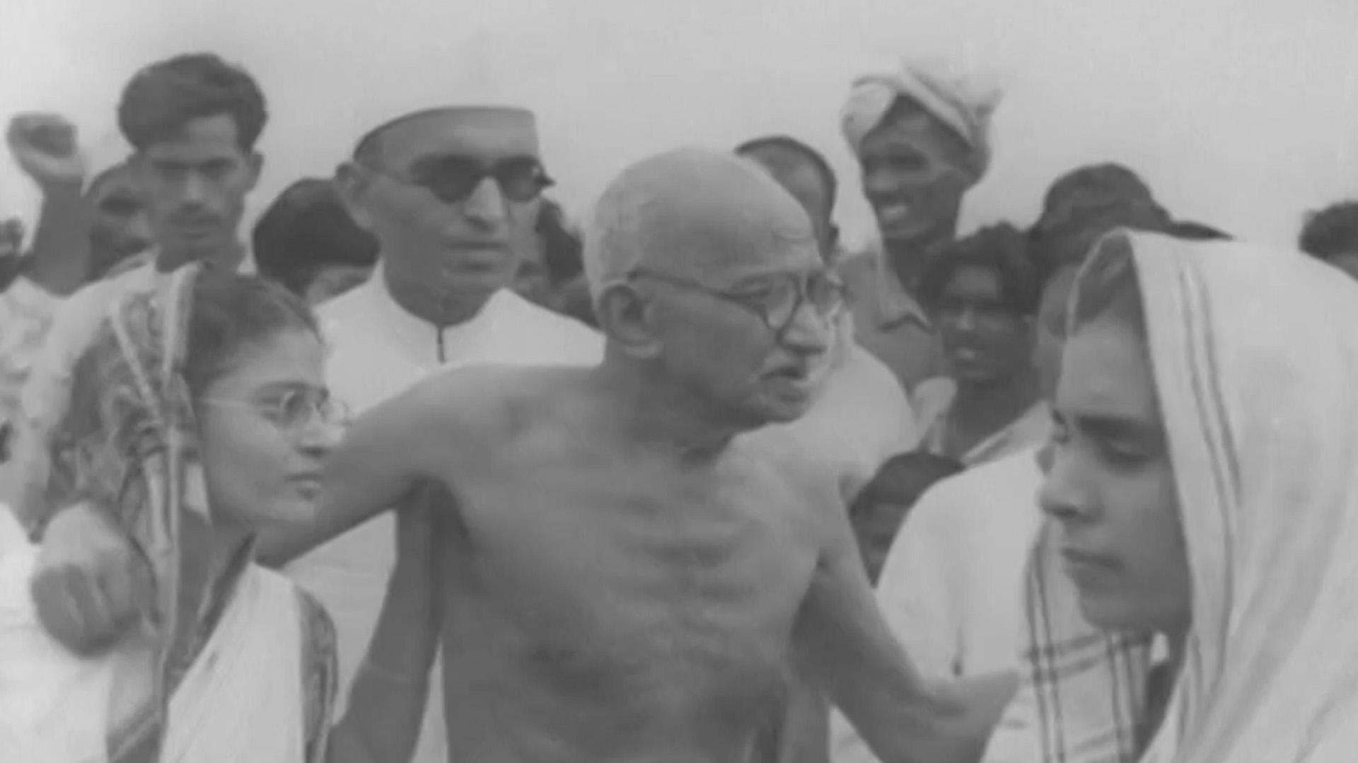 """Gandhi hizo de la """"no violencia"""" y la desobediencia civil su marca"""