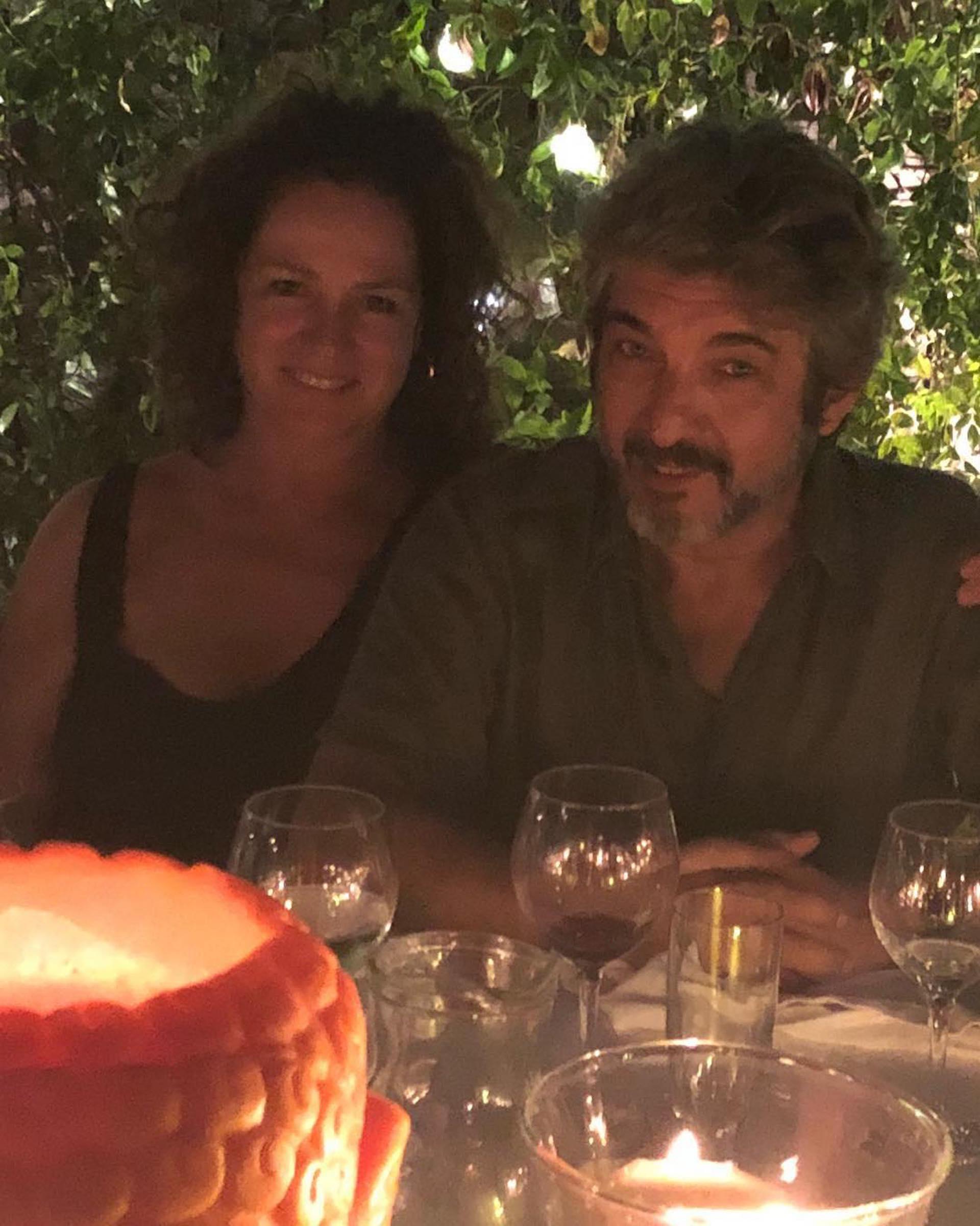 Ricardo Darín y Florencia Bas en la fiesta de cumpleaños de Susana. (Foto Instagram)