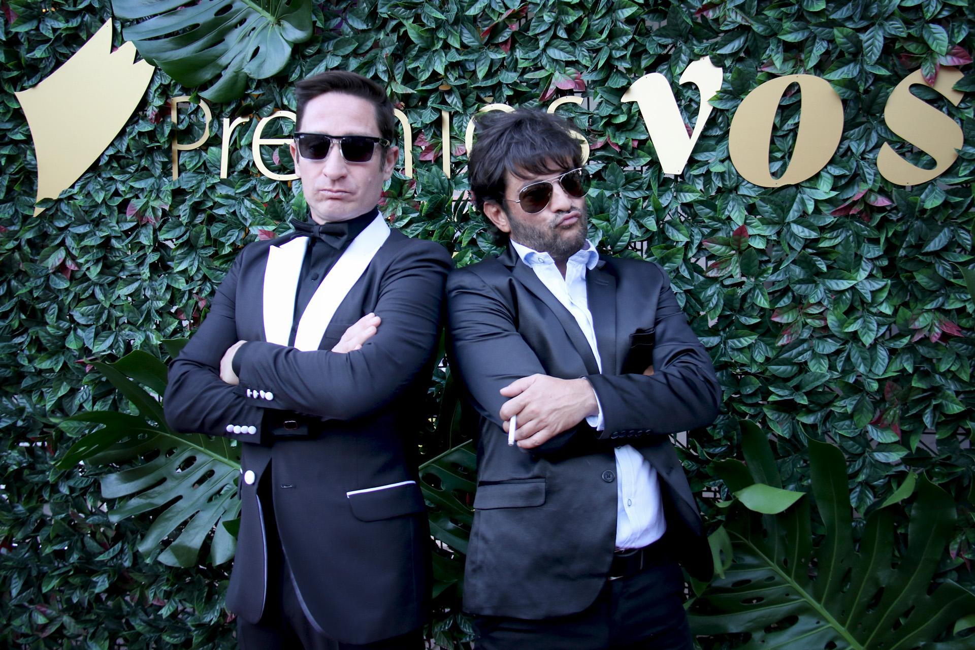 Alejandro Paker y Pablo Rago