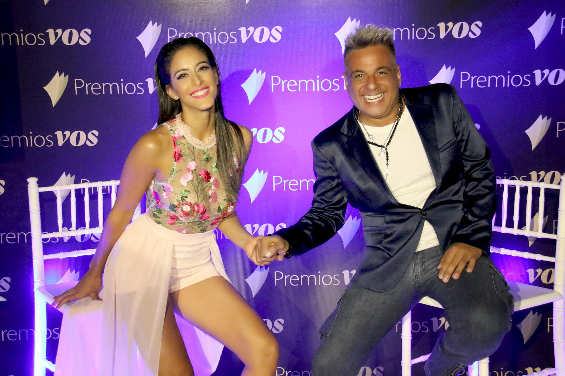 Celeste Muriega y Marcelo Iripino