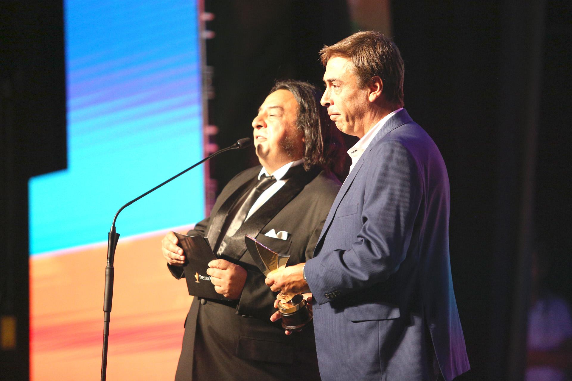 René Bertrand y Gabriel Almirón