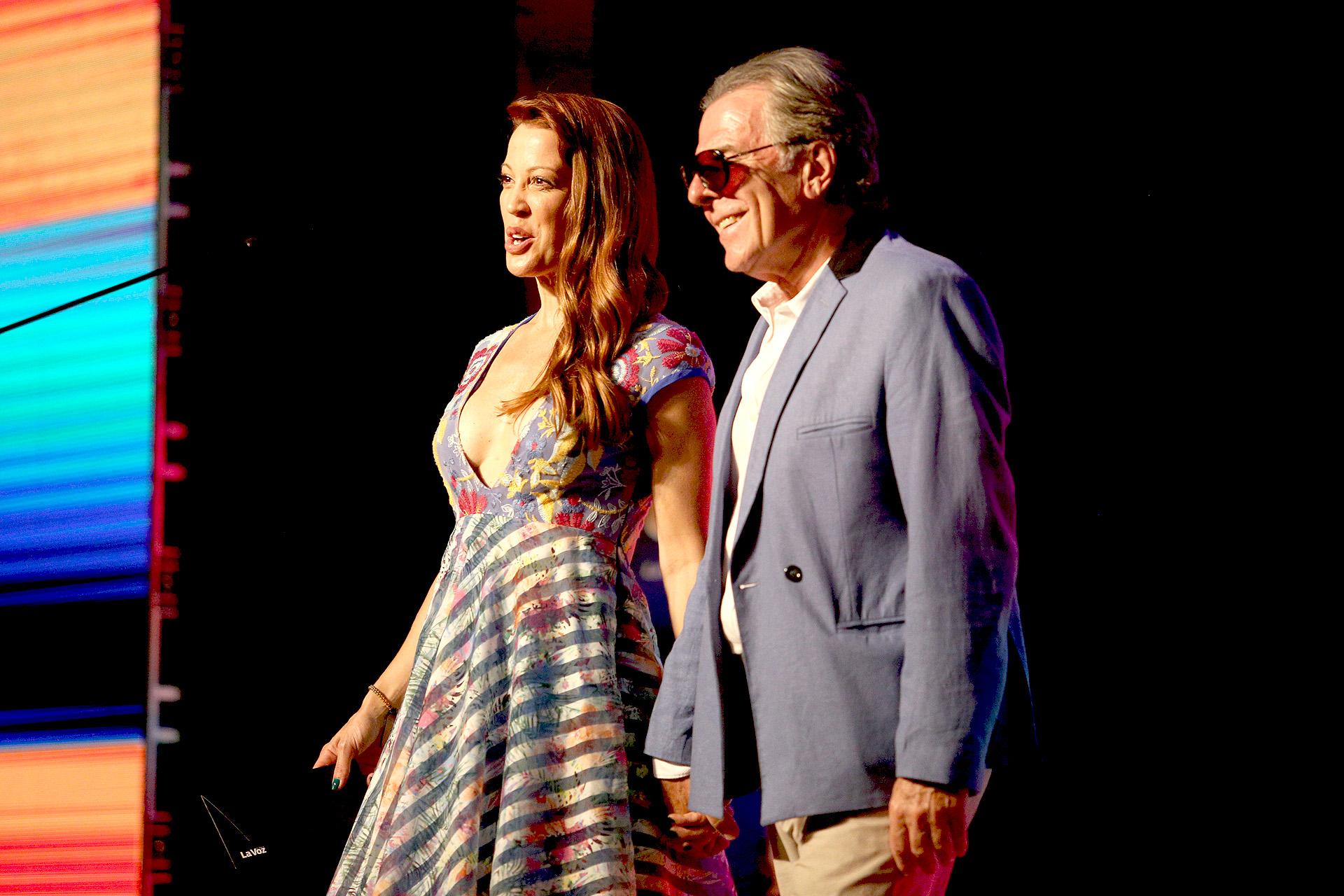 Miriam Lanzoni y Victor Laplace