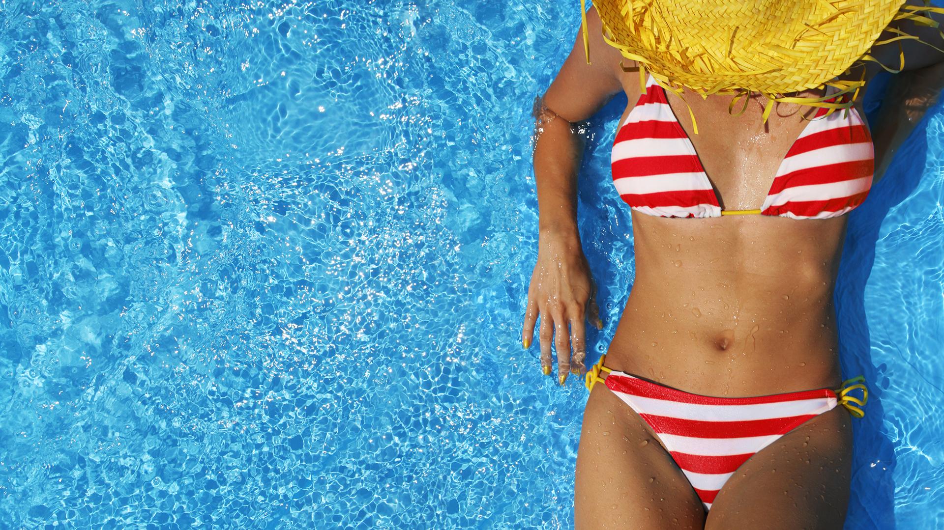La bikini triangulito, el modelo más elegido por las argentinas para lucir en las playas del verano 2018 (Getty)