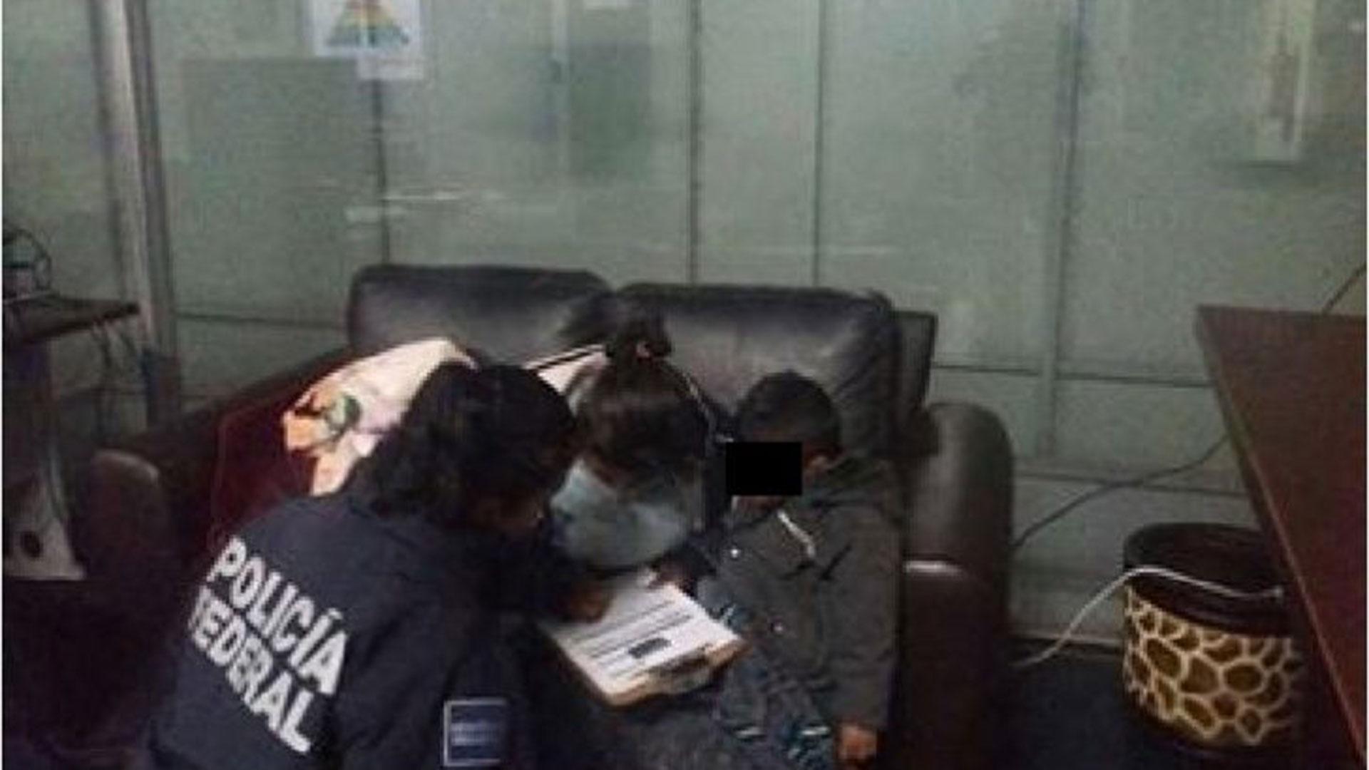 Una psicóloga brindó apoyo al niño raptado, quien fue hallado ileso.