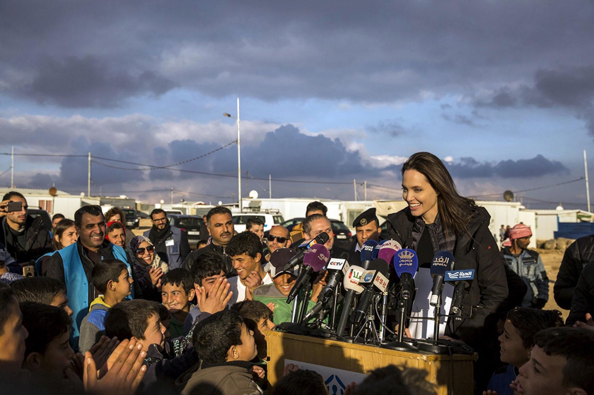 """""""Una solución política viable es la única forma de crear las condiciones para que los sirios regresen a sus hogares """"."""