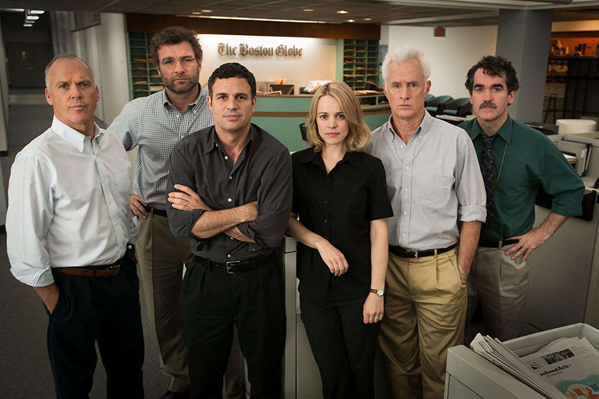 """""""En primera plana"""", ganadora del Oscar en 2016. Sobre una investigación de abusos en la Iglesia católica"""
