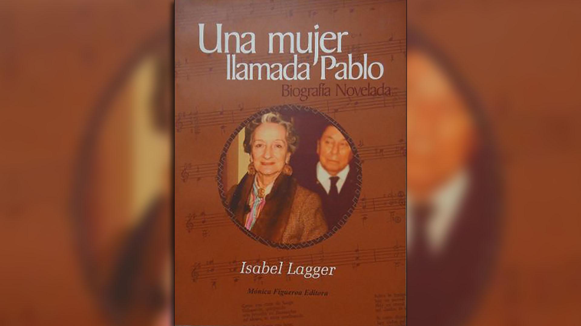 """Tapa del libro """"Una mujer llamada Pablo"""" de Isabel Lagger"""