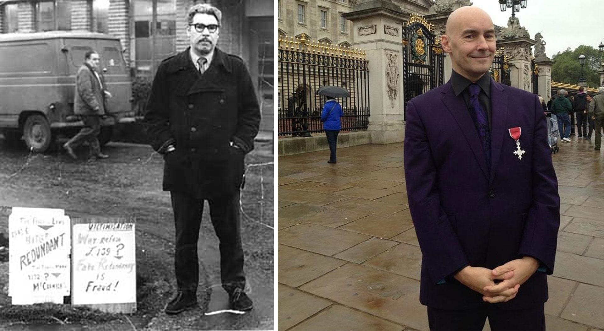 Walter y Grant, miembros del Imperio Británico