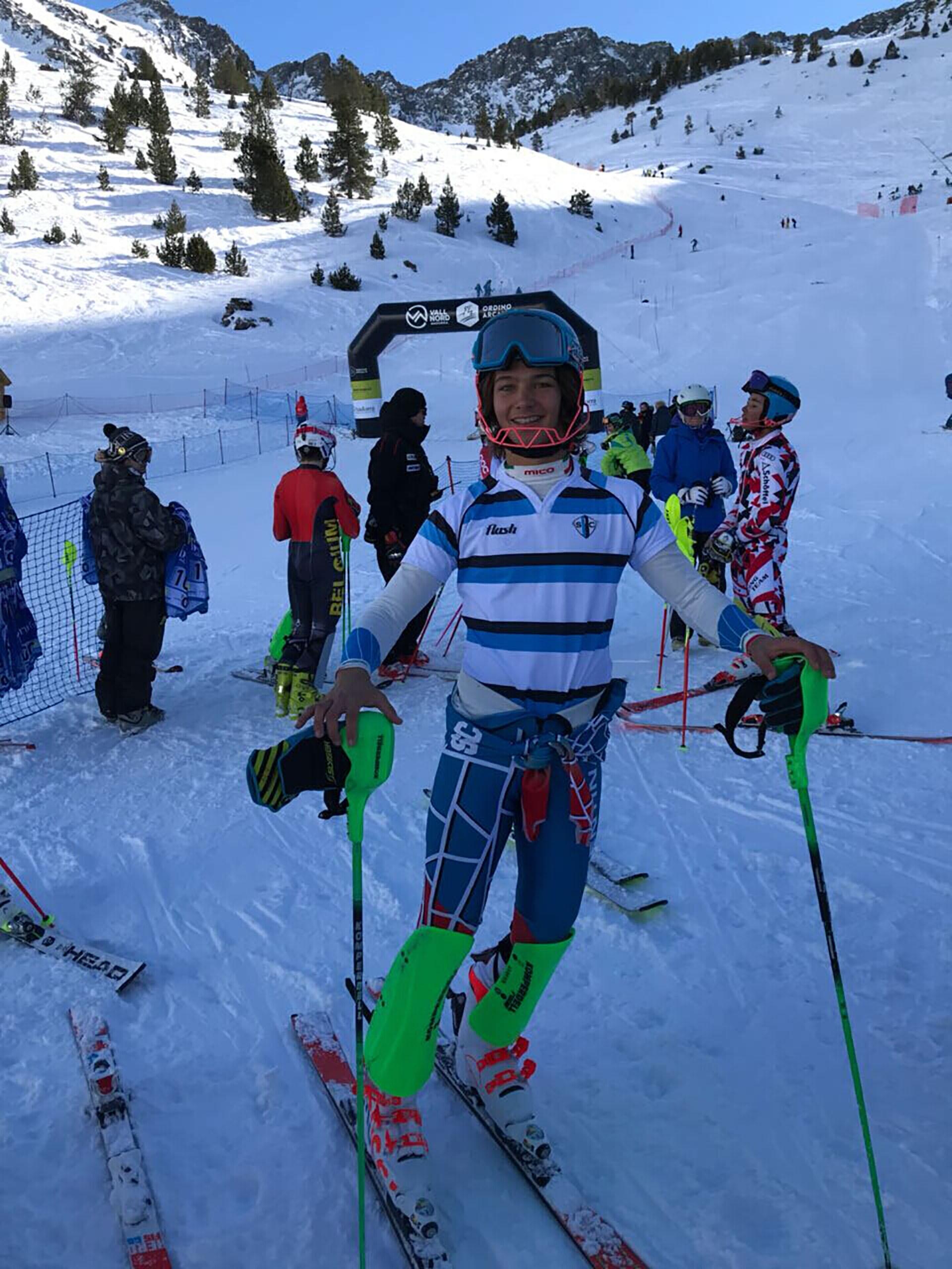 Tiziano Gravier, el nuevo campeón en Slalom del Torneo Internacional Borrufa – Andorra, uno de los más importantes del mundo