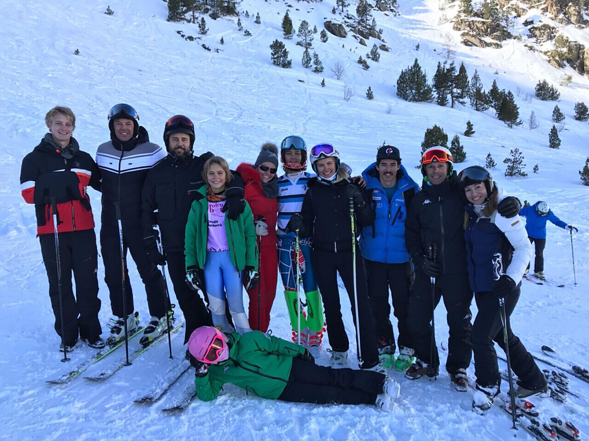 Los Gravier- Mazza en la nieve europea: una familia que cada invierno disfruta del esquí en las mejores pistas del mundo
