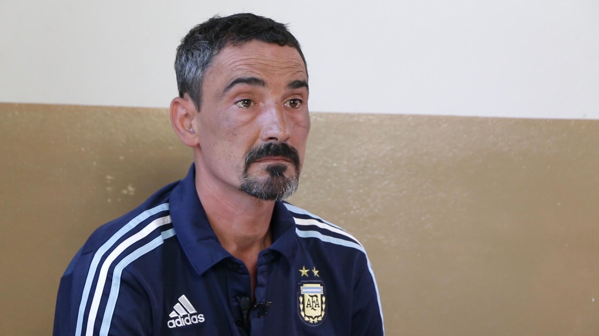 "Pablo ""Bebote"" Álvarez está detenido en Melchor Romero (Foto: Infobae)"