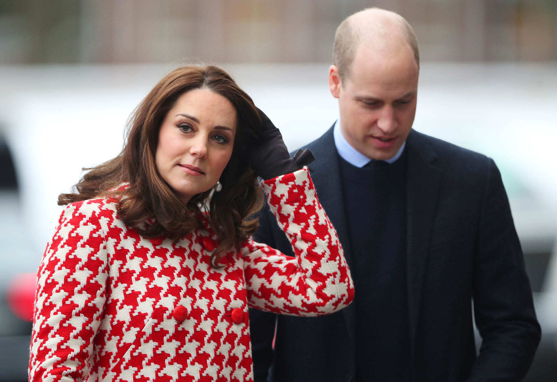 El príncipe William y la duquesa de Cambridge