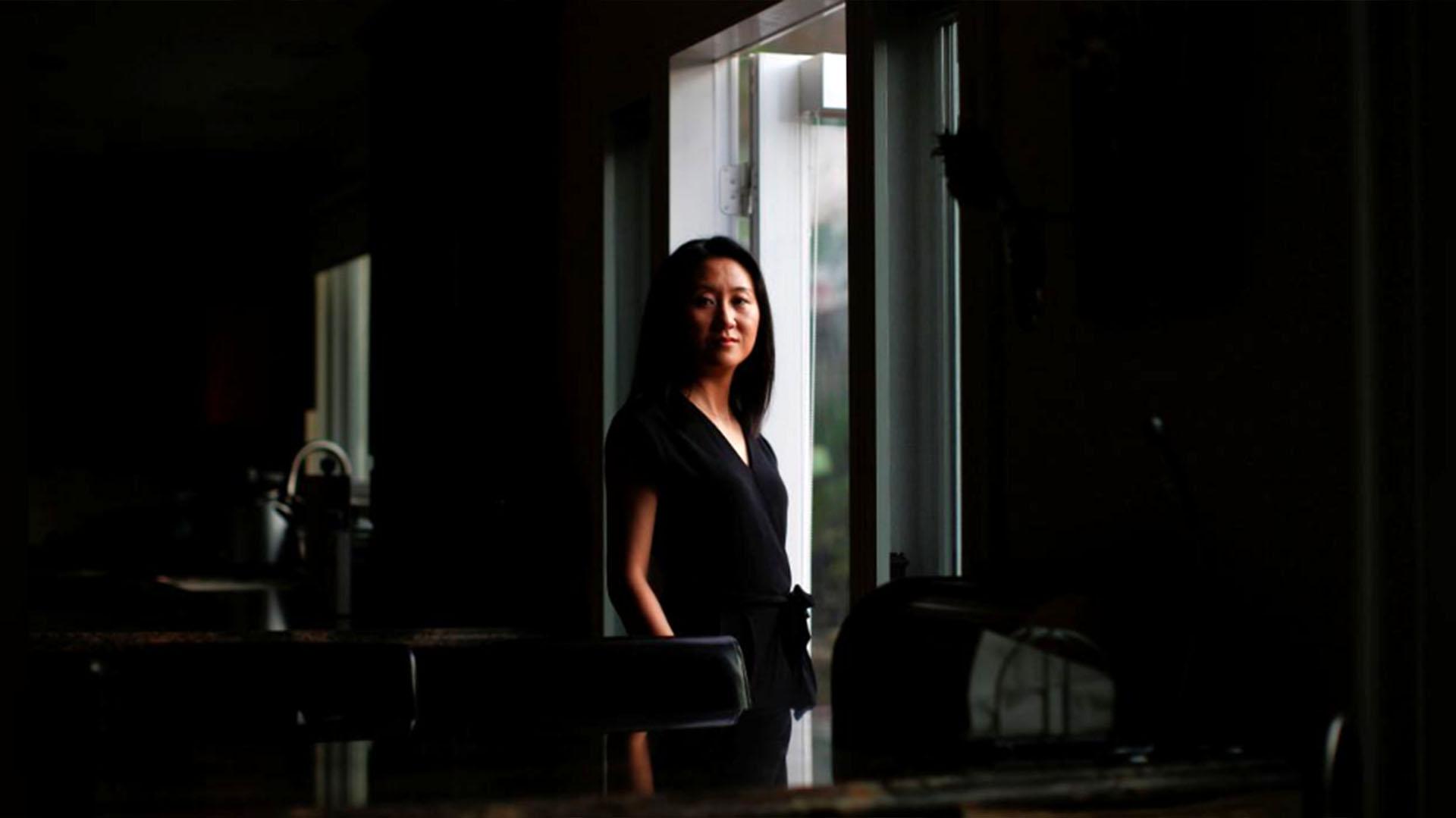 Luo Qianqian en San Francisco el 28 de enero de 2018 (Reuters)