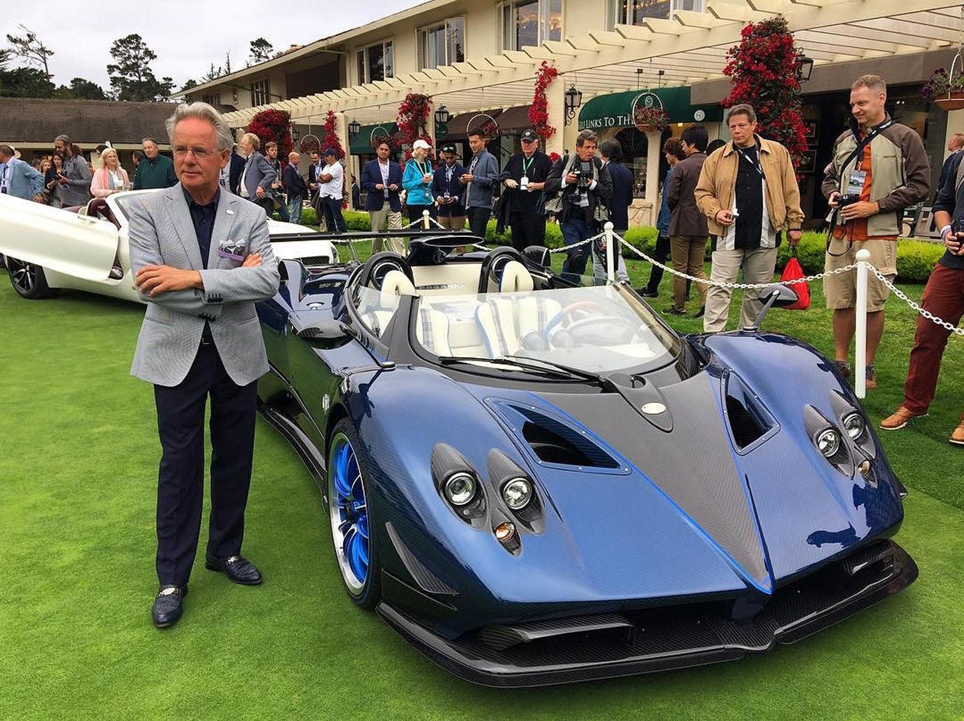 El constructor argentino de deportivos italianos lo exhibió en el Concurso de Elegancia de Pebble Beach de 2017, en Monterey, California
