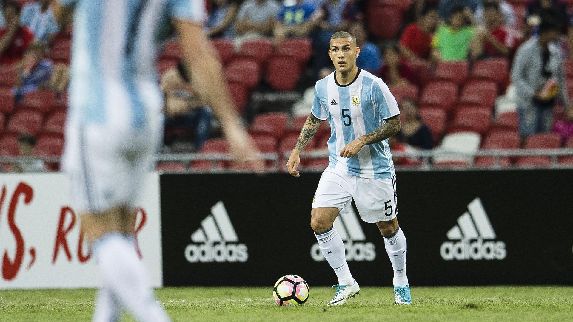 Paredes empezó a ganar espacio en la Selección (Getty)