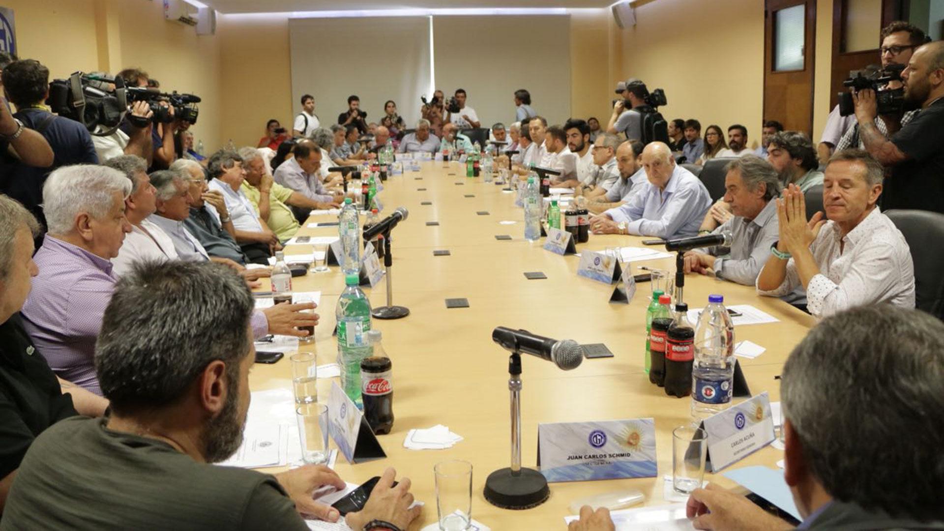 La reunión del Consejo Directivo