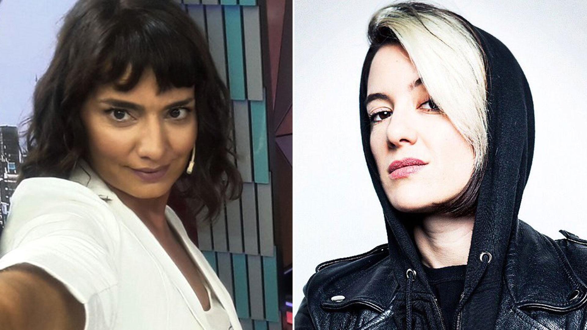 Valeria Sampedro y Malena Pichot tuvieron un duro cruce a través de las redes sociales