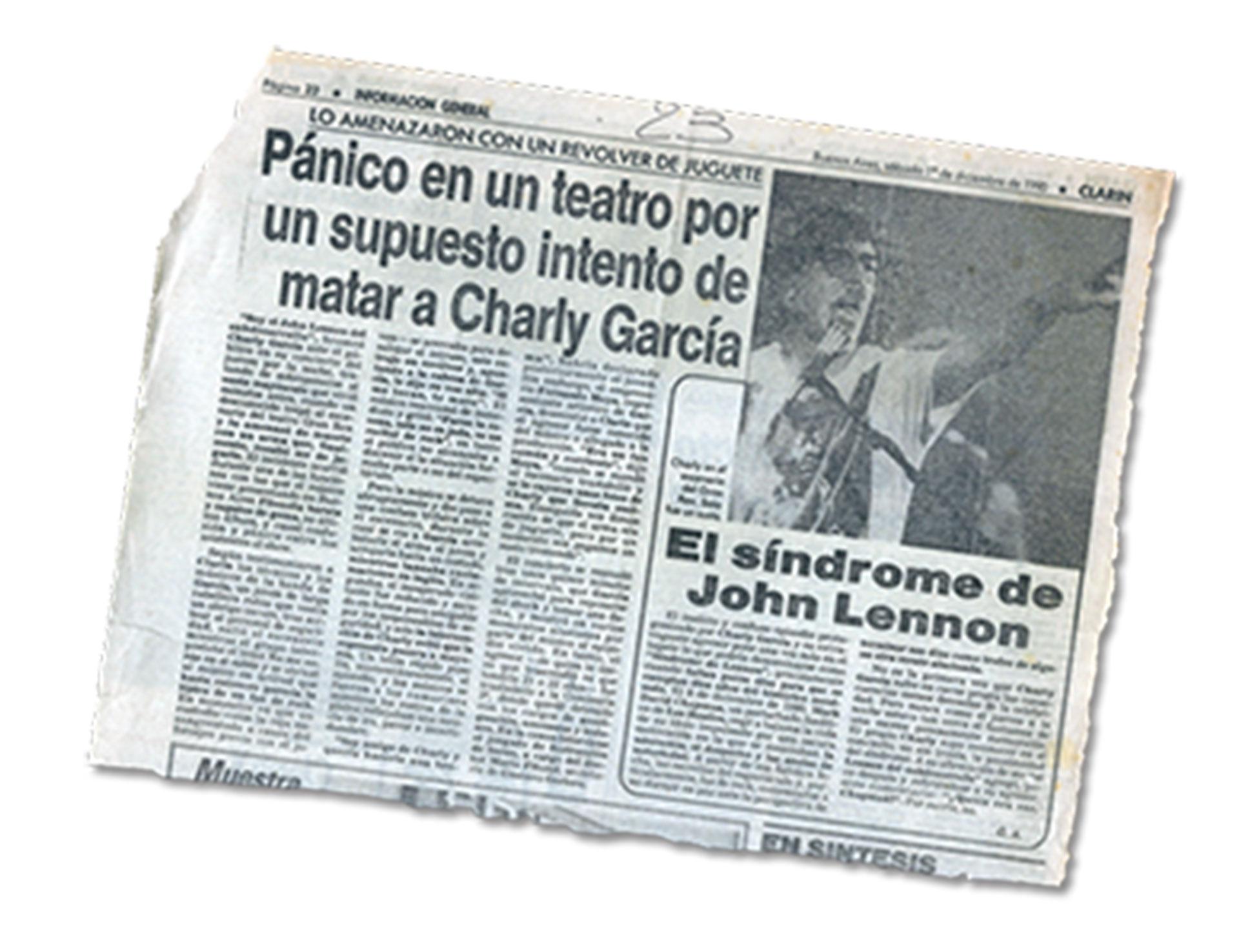 La cobertura de Clarín