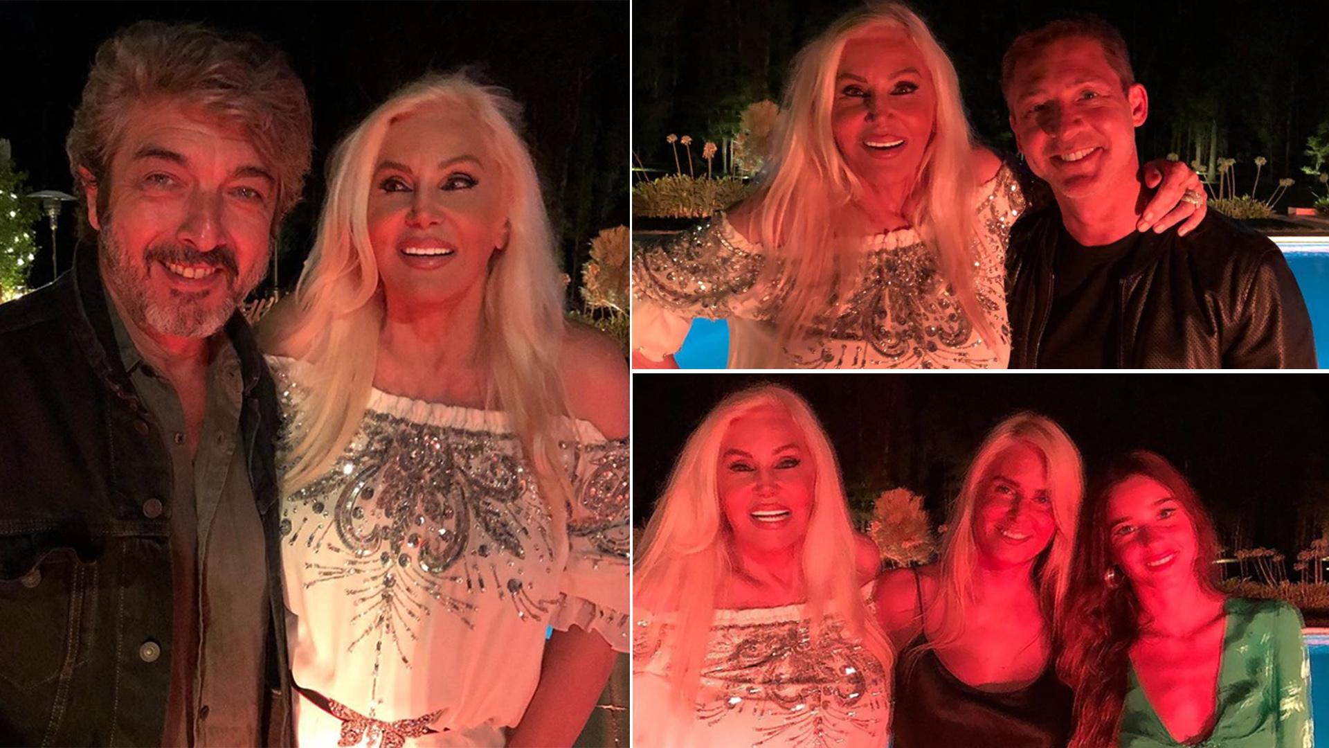 Susana Giménez celebró su cumpleaños en su chacra uruguaya, acompañada por su hija Mecha, su nieta Lucía y amigos como Ricardo Darín, Adrián Suar, Oscar González Oro y Facundo Moyano