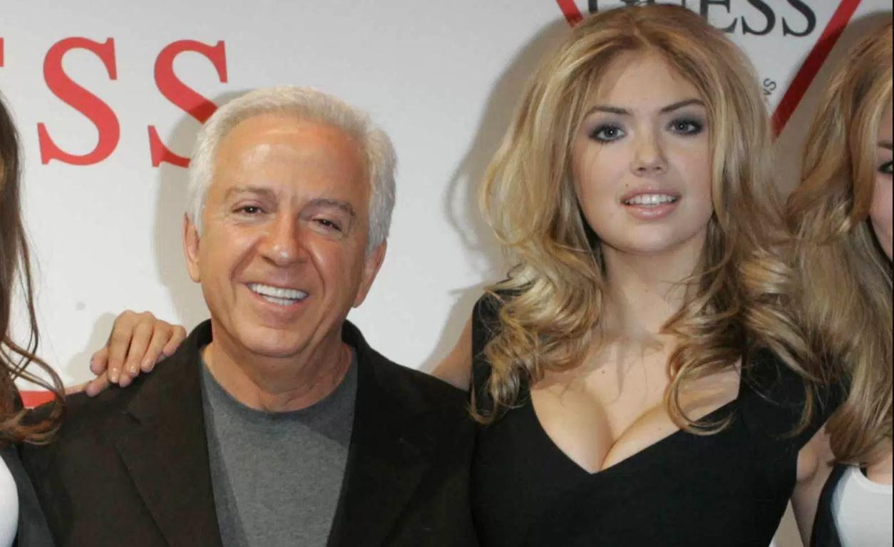 Kate Upton denunció al cofundador de GUESS, Paul Marciano, por acoso sexual. (AP)