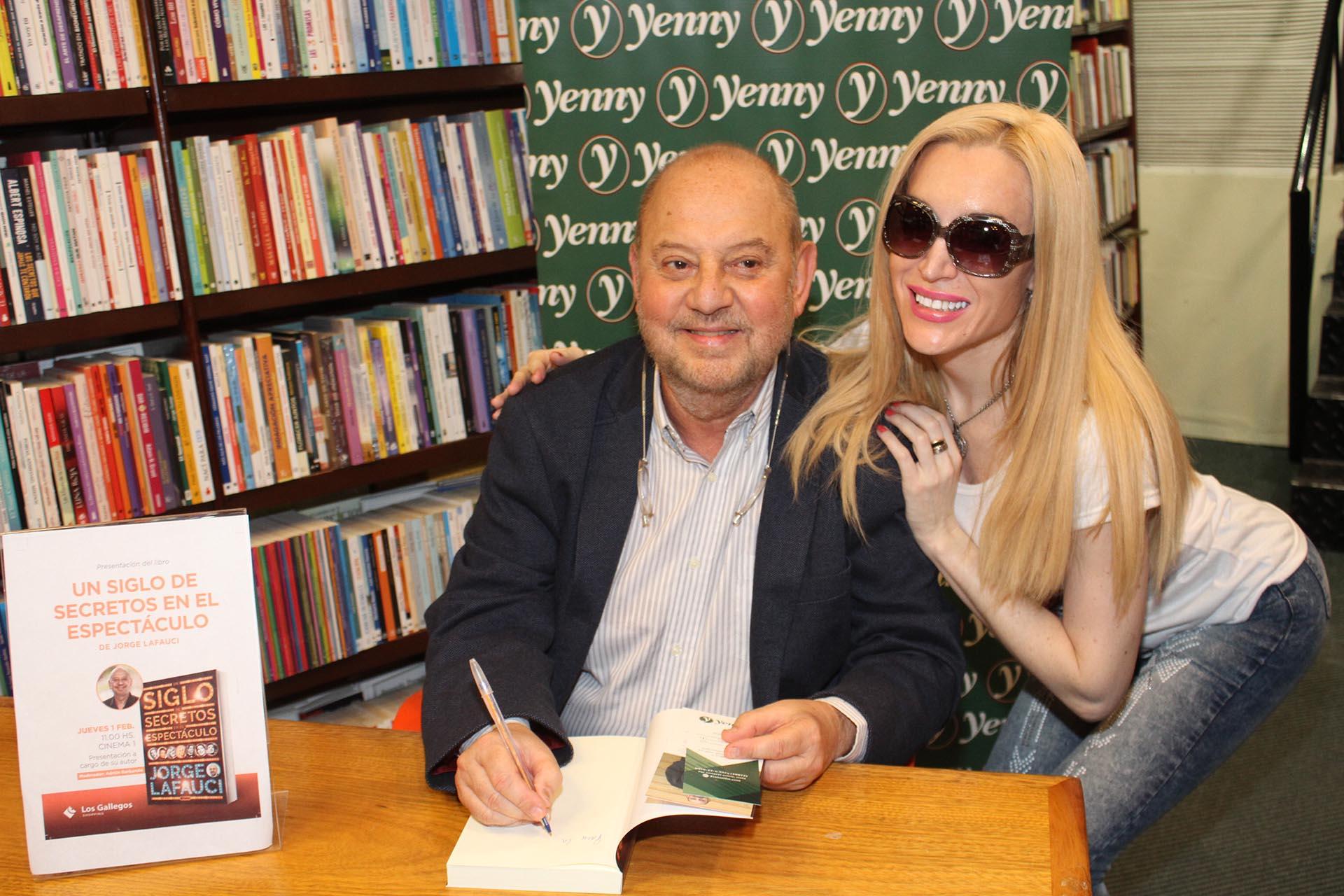 Jorge Lafauci y Fátima Florez