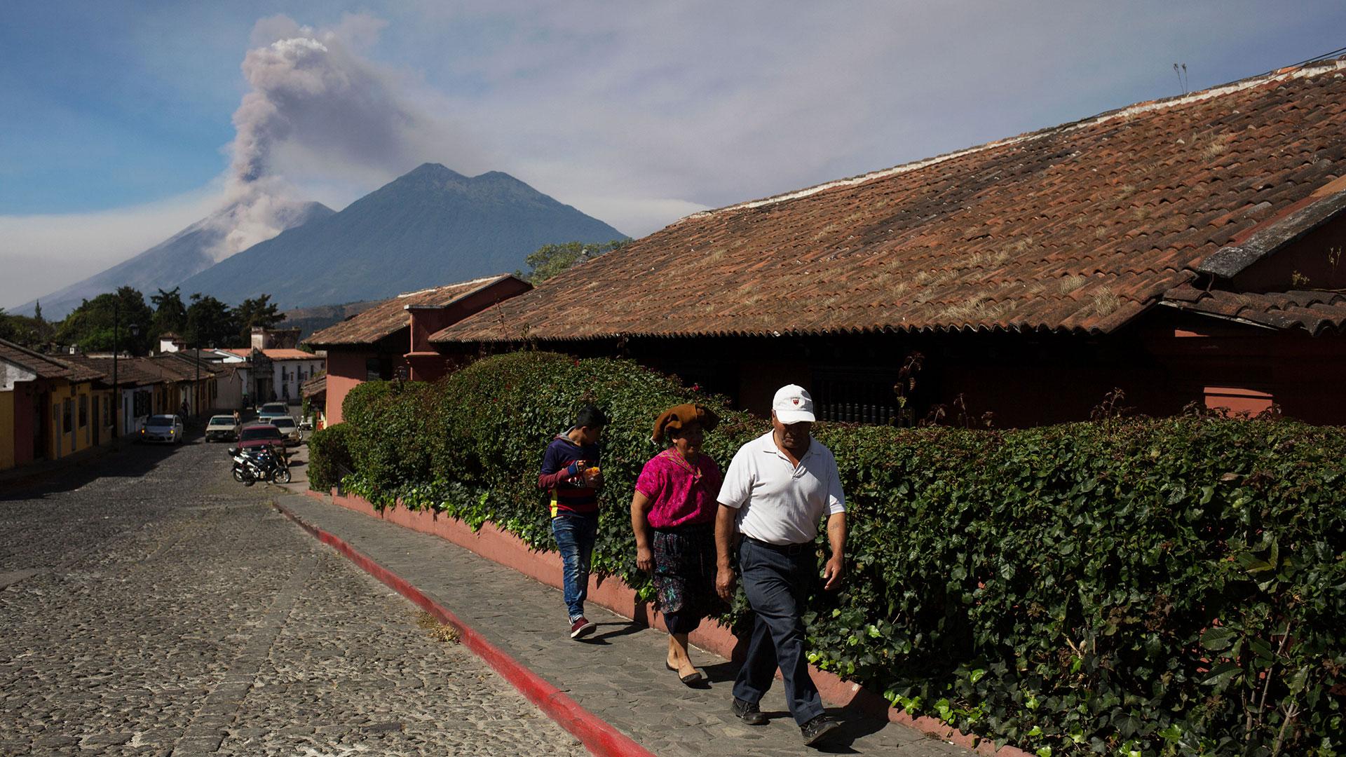 Volcán de Fuego (EFE)