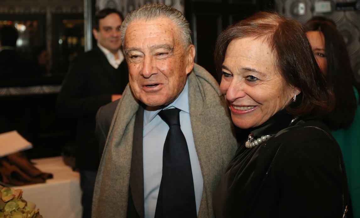 Eduardo Eurnekian y Susan Segal, presidenta y directora ejecutiva del Consejo de las Américas.