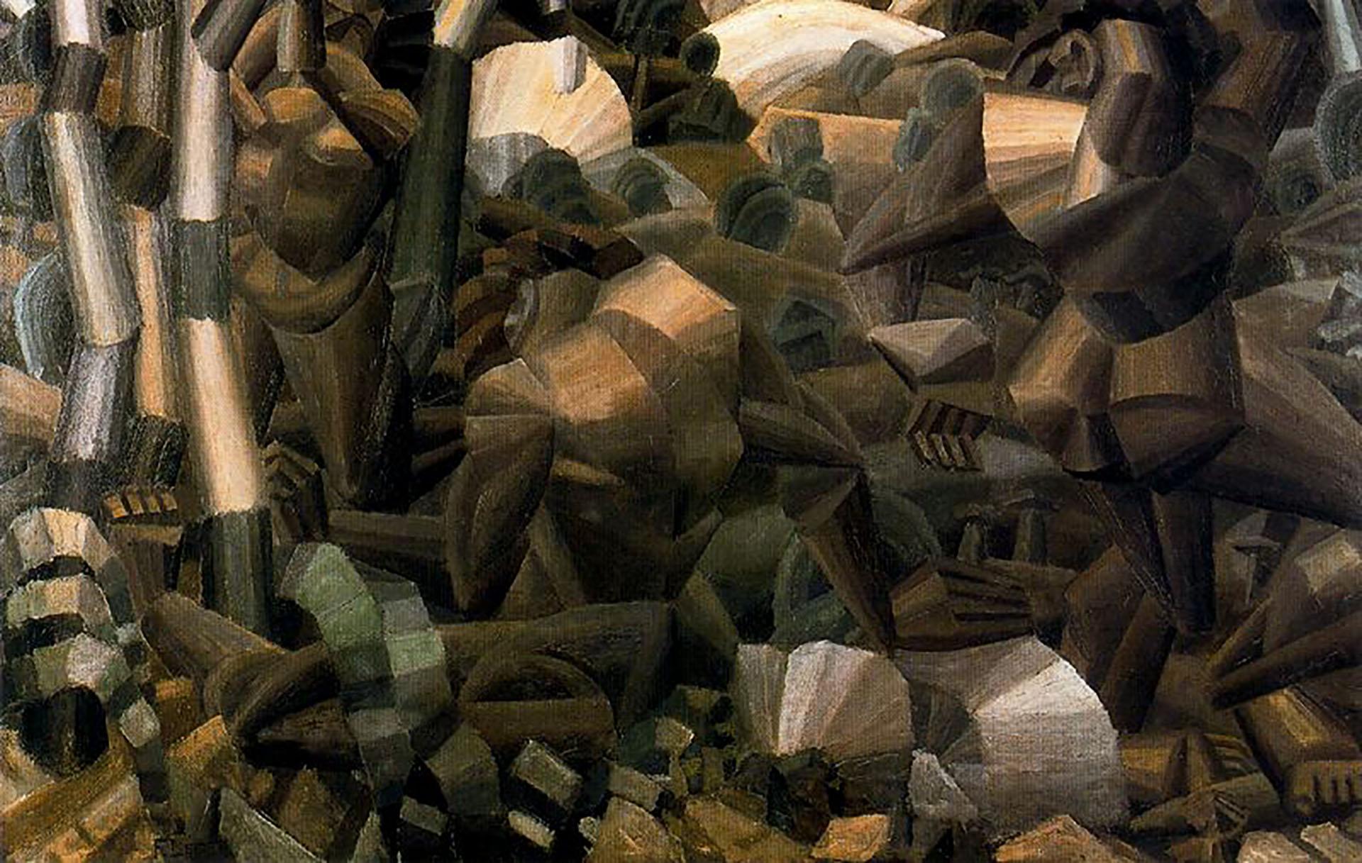 Desnudos en el bosque(1910)
