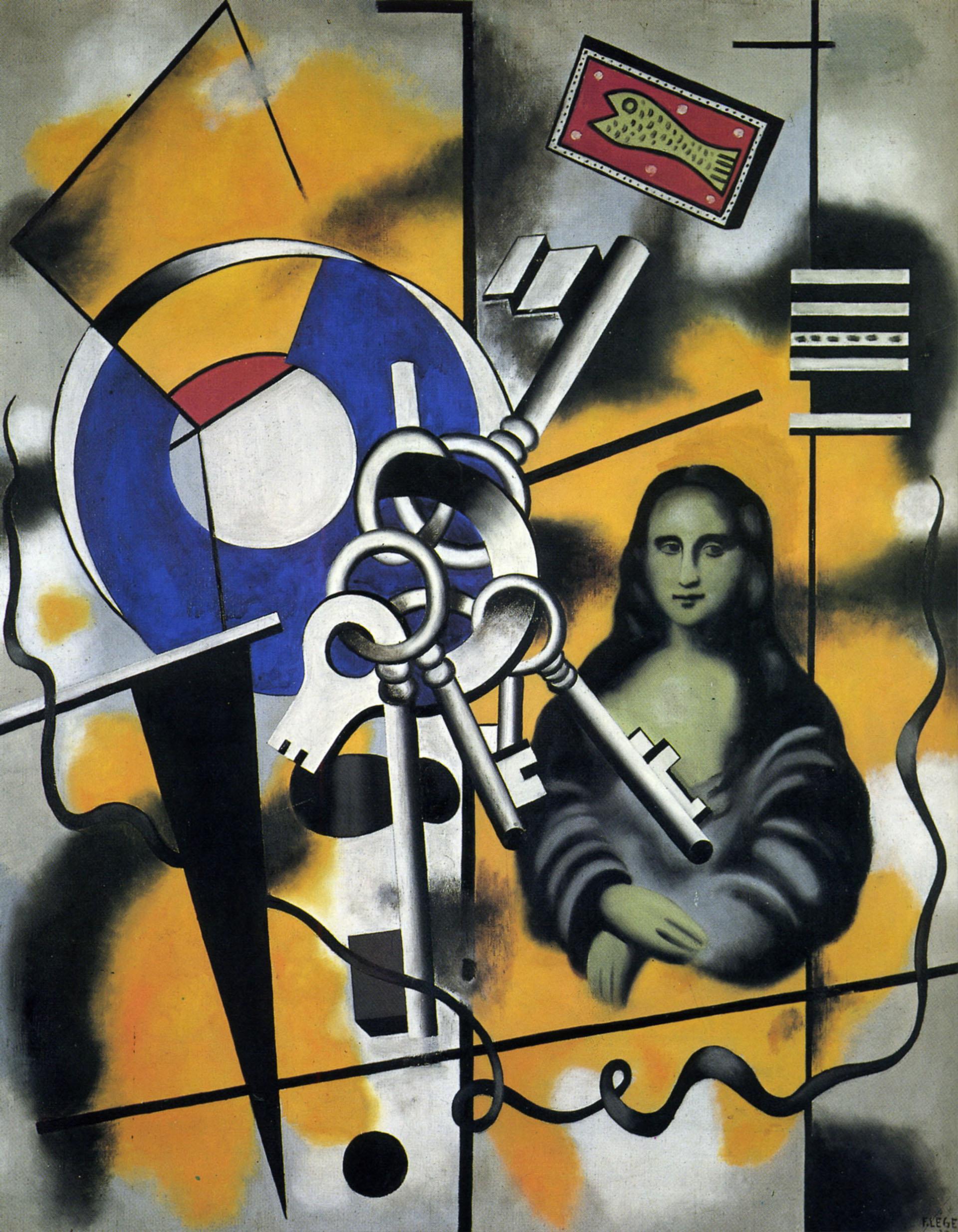 La Gioconda con las llaves(1930)