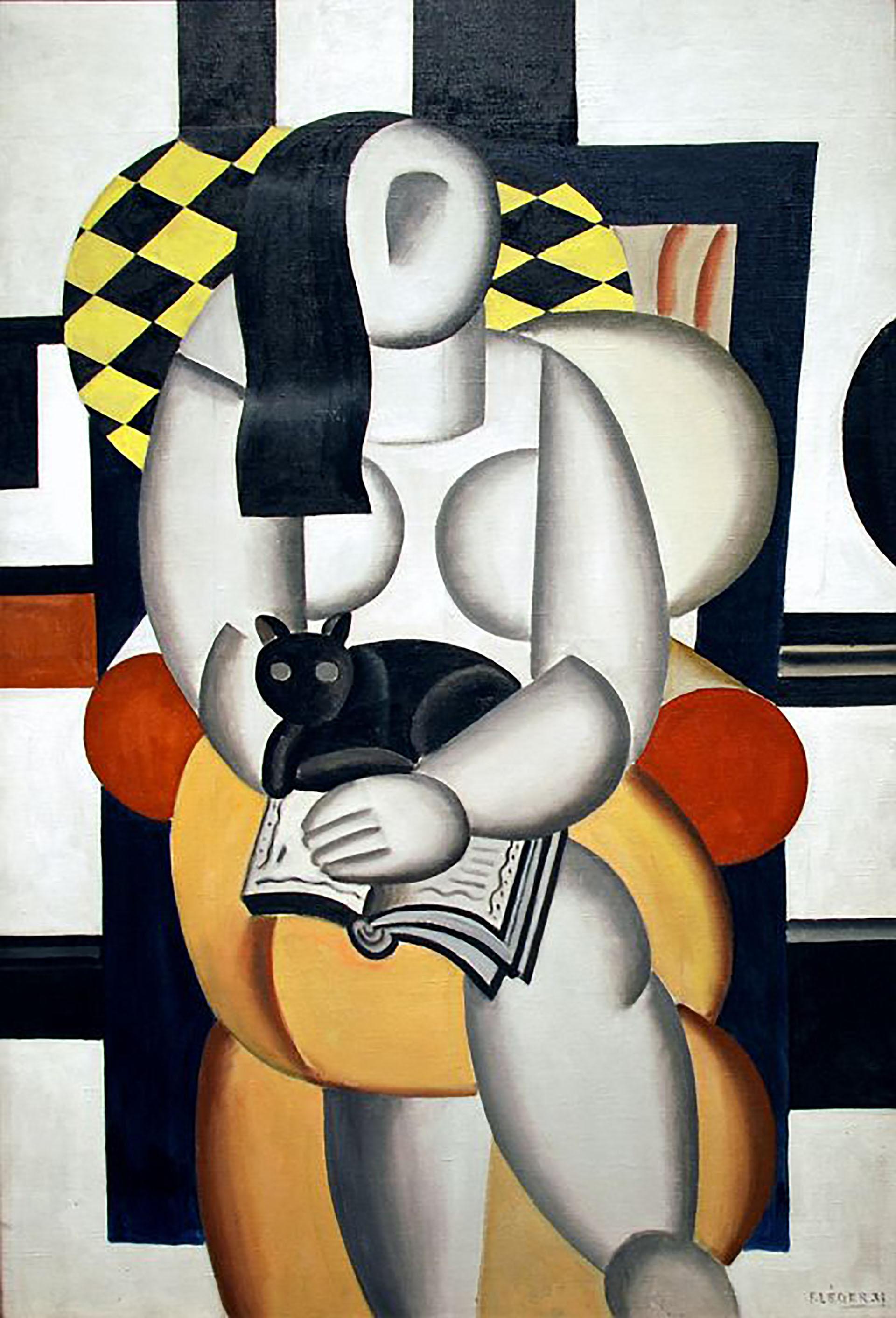 Mujer con un gato(1921)