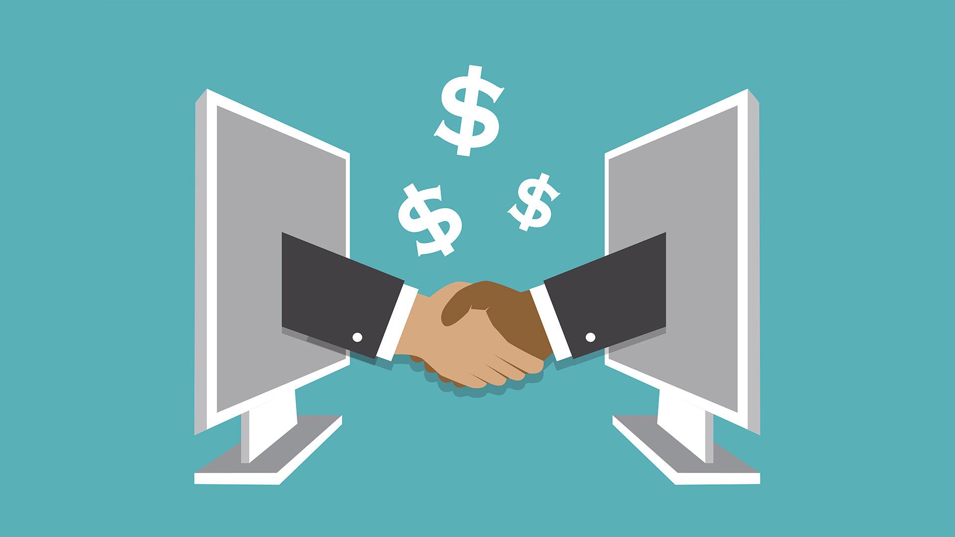 Los contratos inteligentes se registran en la blockchain (Getty)