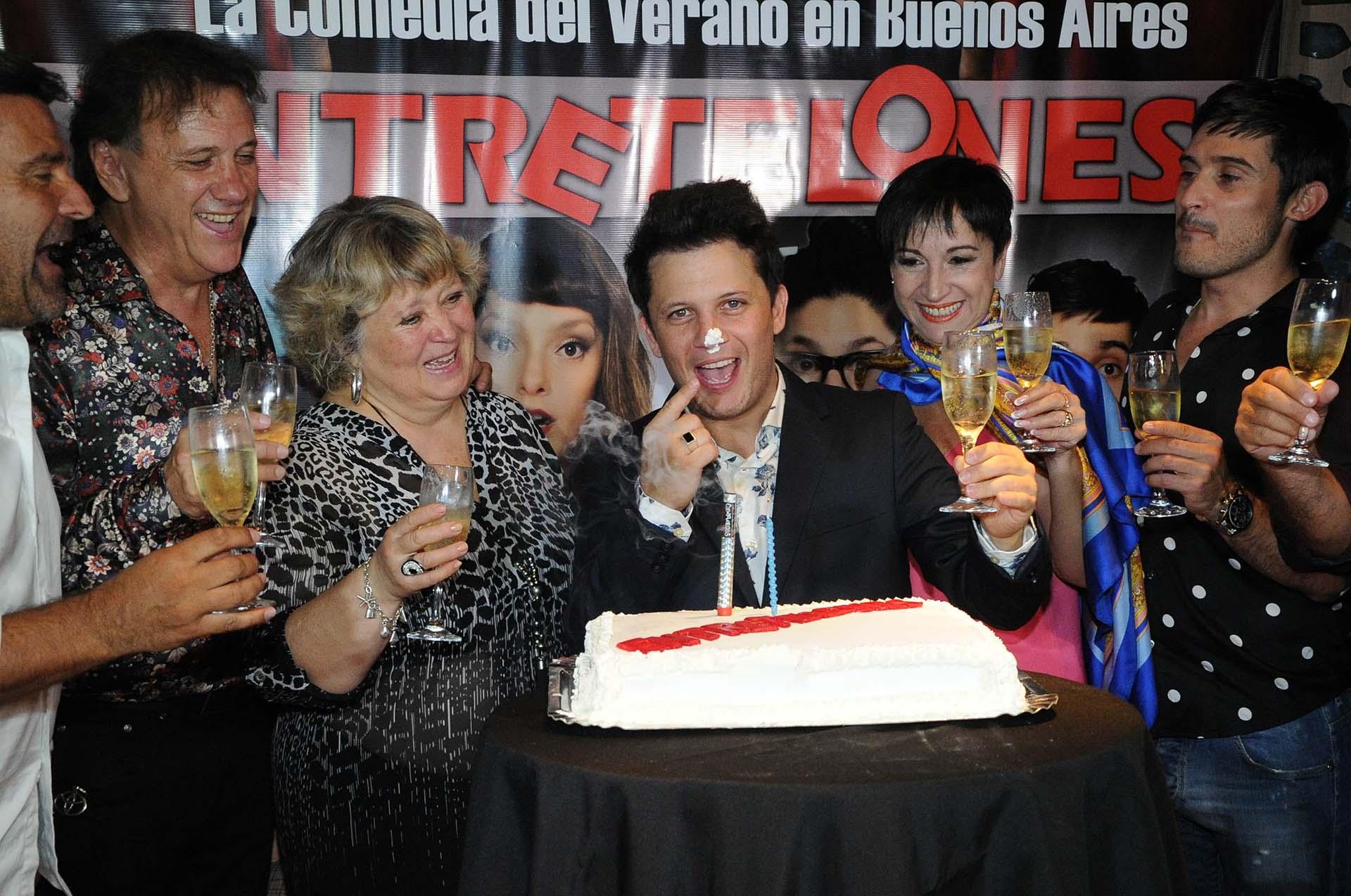 Luego, la celebración se trasladó a la disco Like de Palermo (Verónica Guerman / Teleshow)