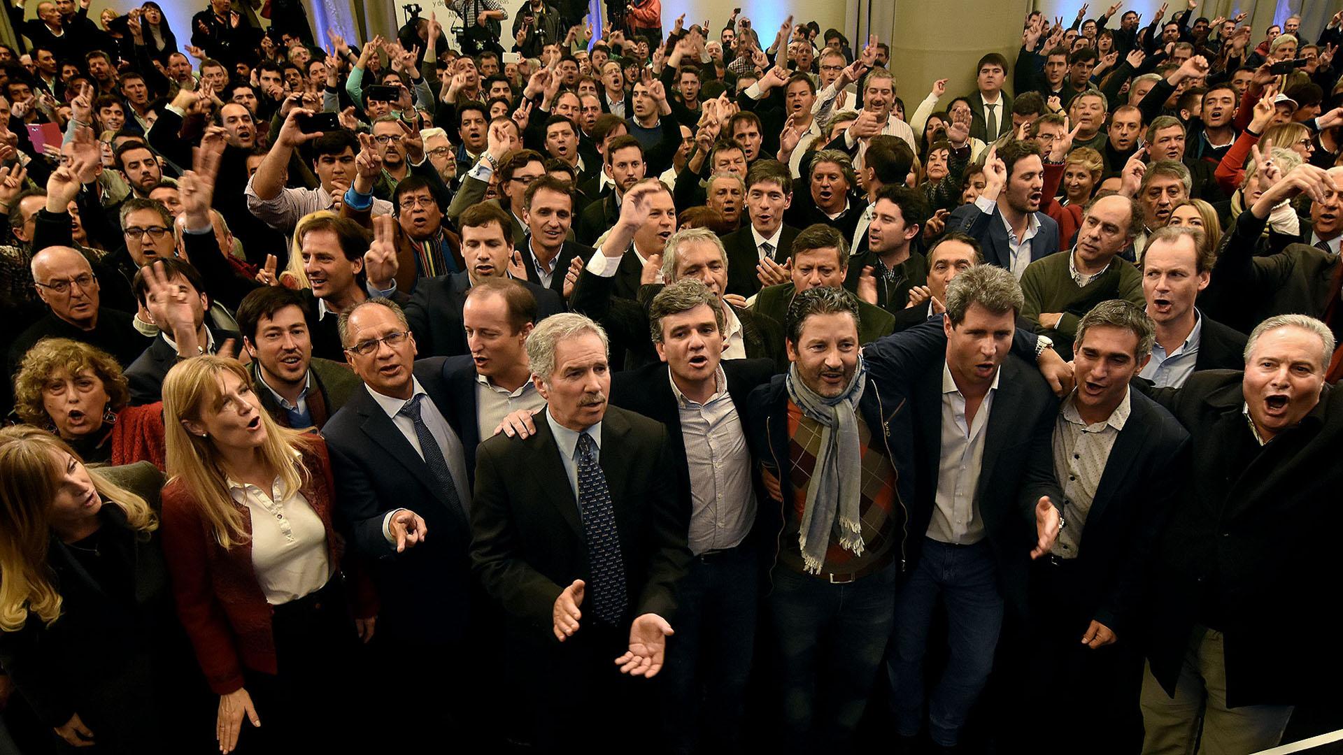 Dirigentes de todos los sectores del peronismo