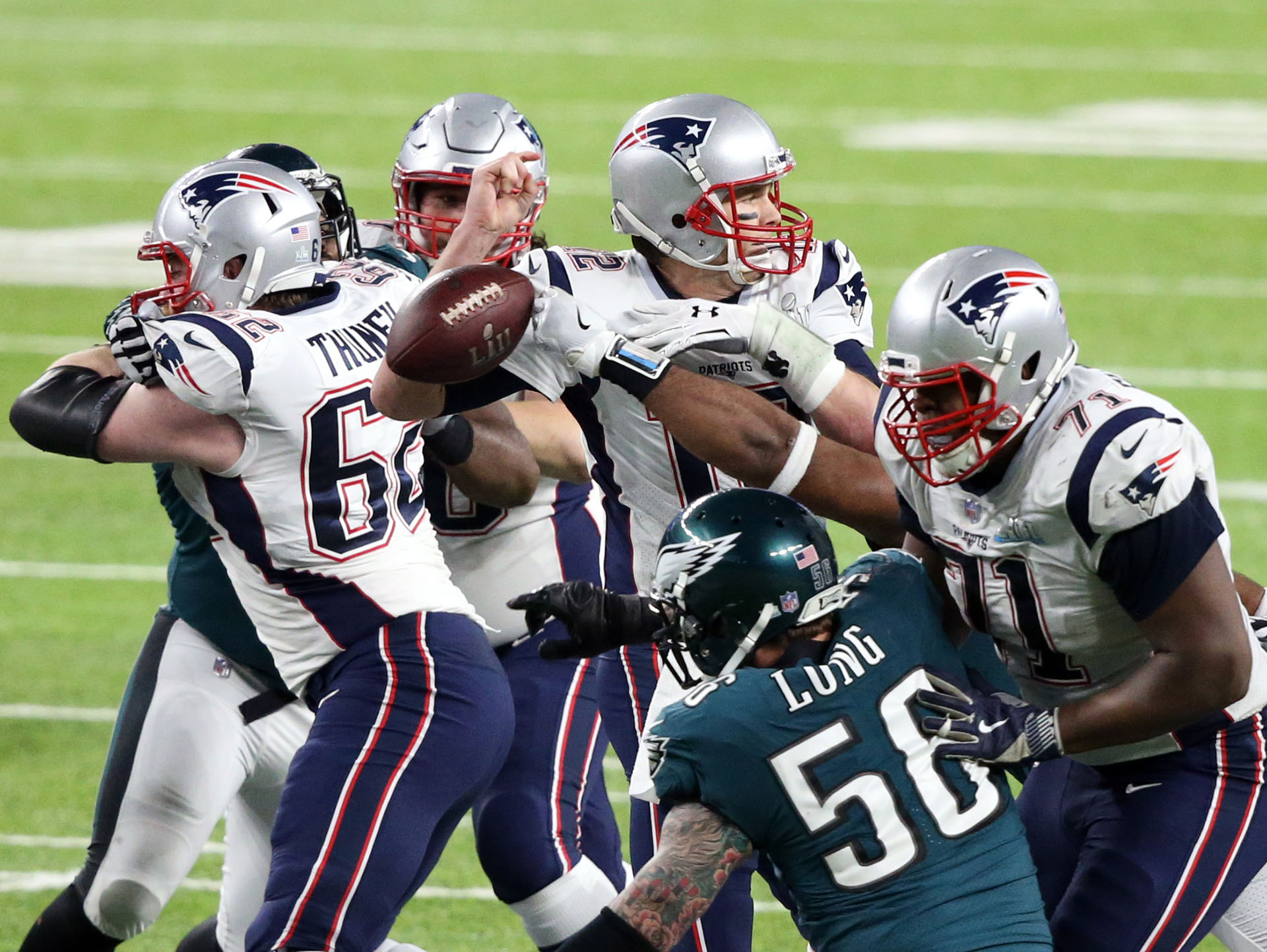 Los Patriots son los candidatos al título (Reuters)
