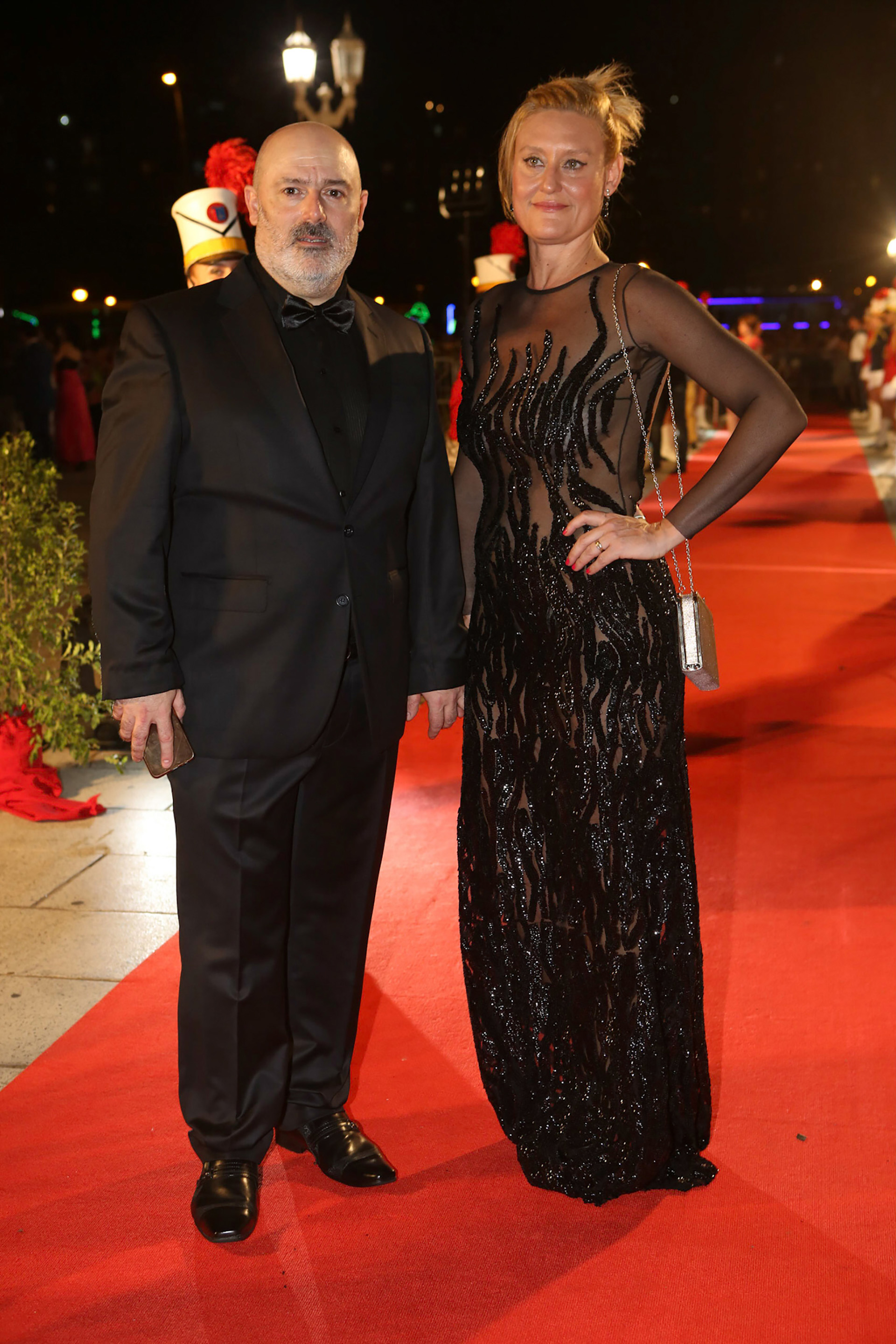 Juan Alzúa y su mujer