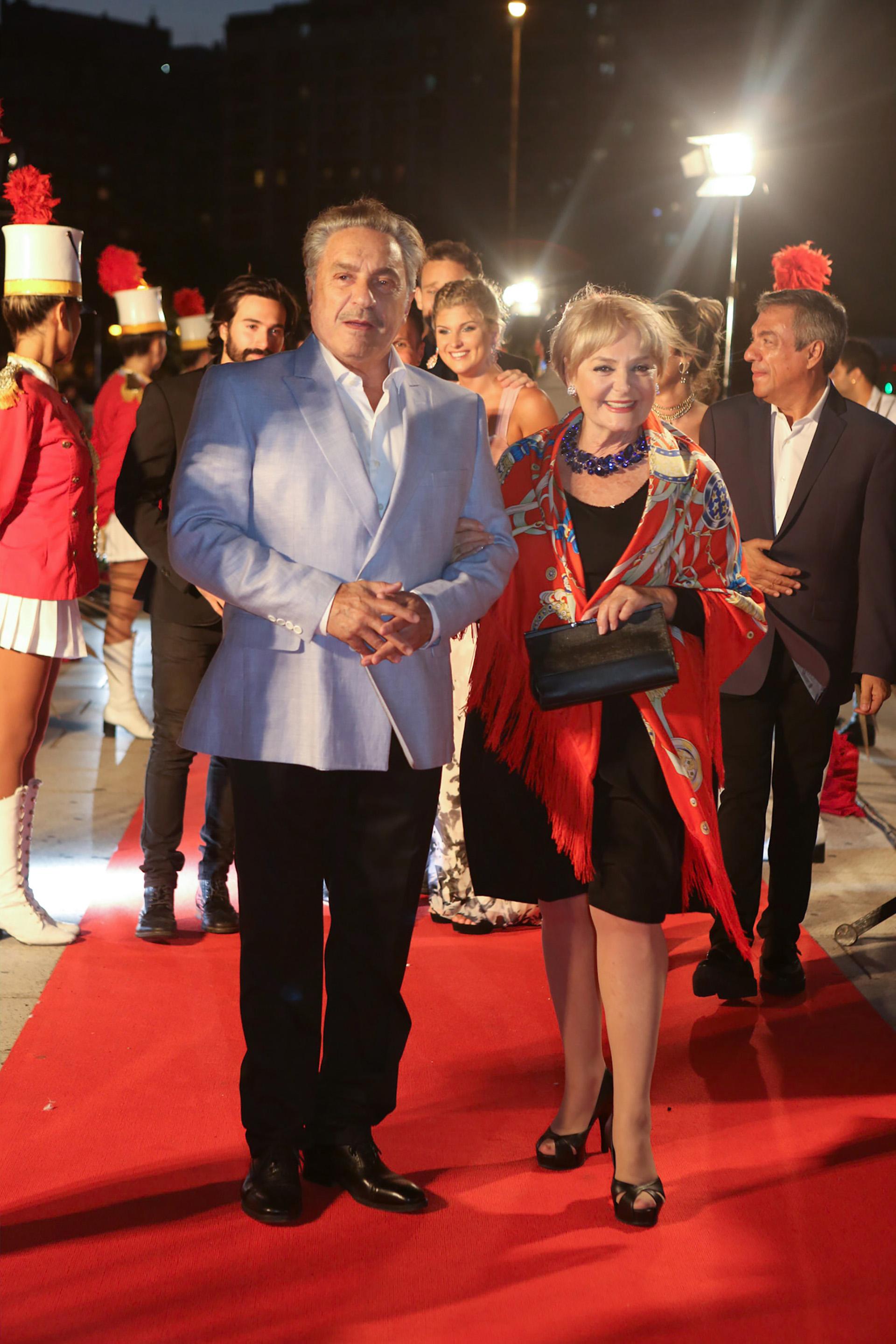 Antonio Grimau y Claudia Lapacó