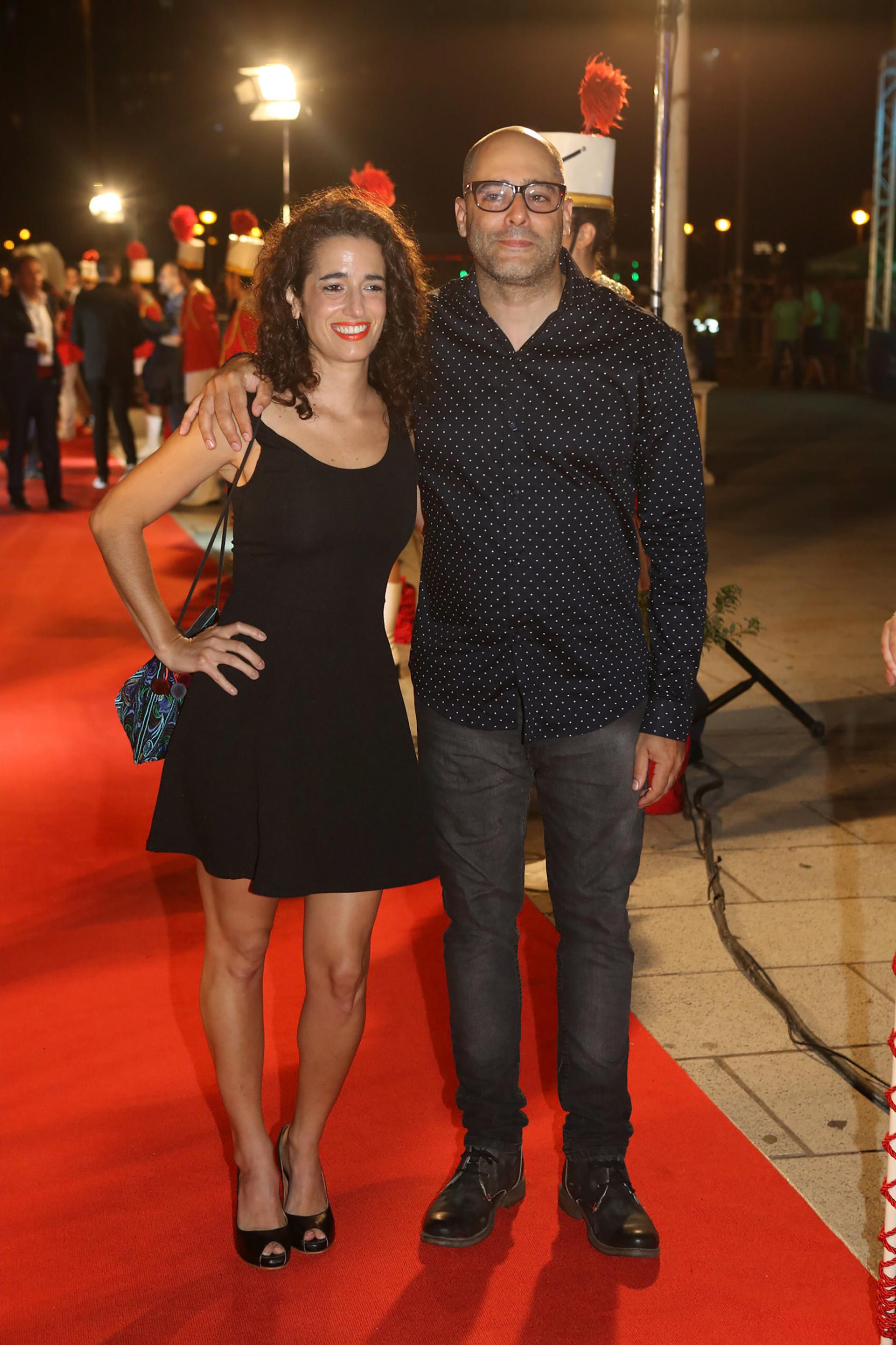 Soledad García y Sebastián Presta