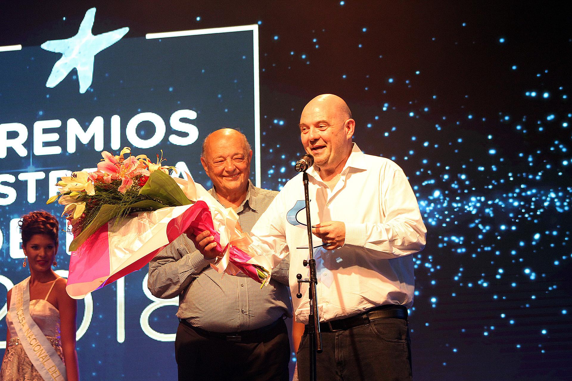 Carlos Rottemberg recibió una distinción por sus 40 años de temporada en Mar del Plata