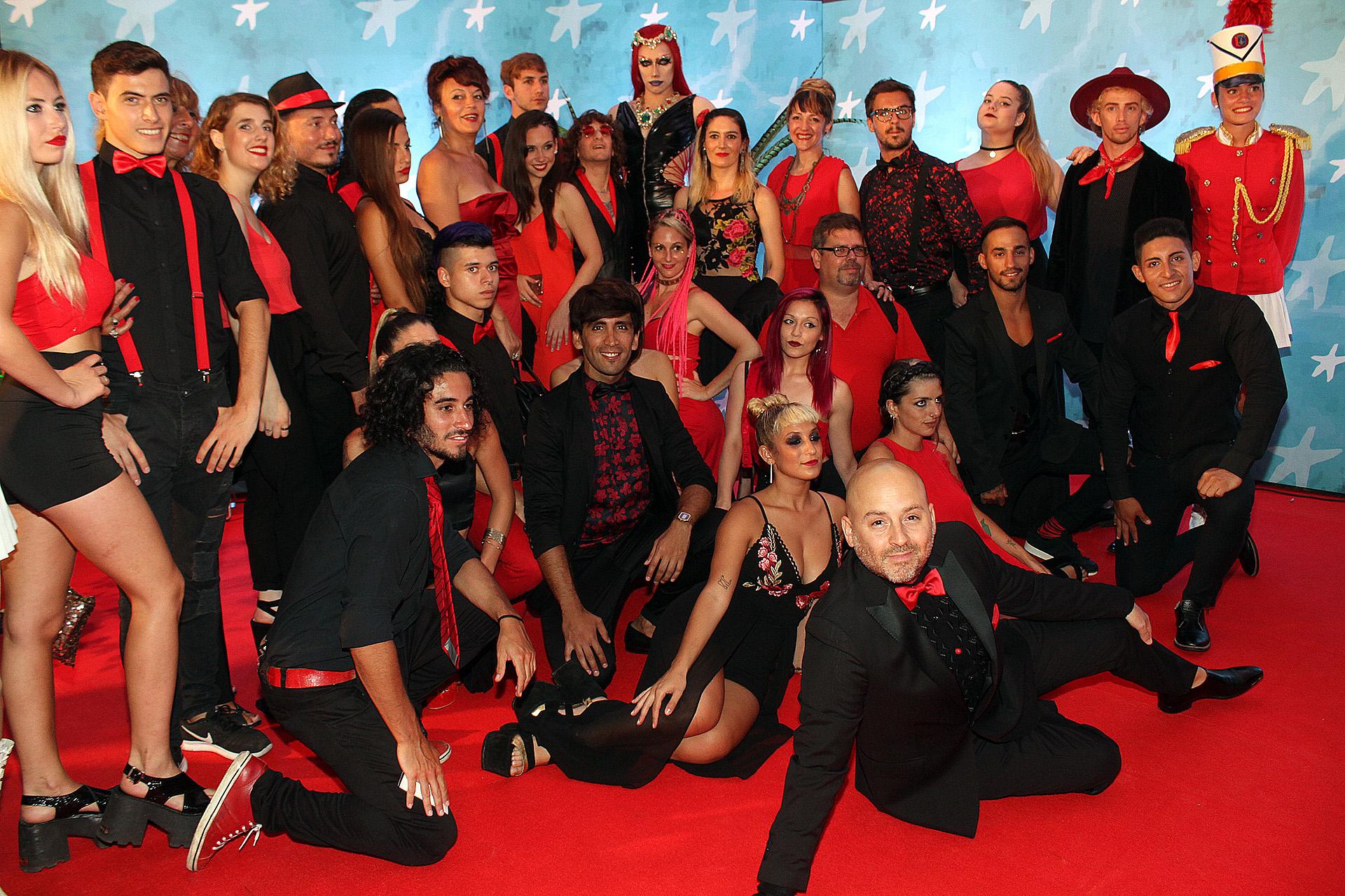 """El elenco de """"Bollywood"""", de José María Muscari"""