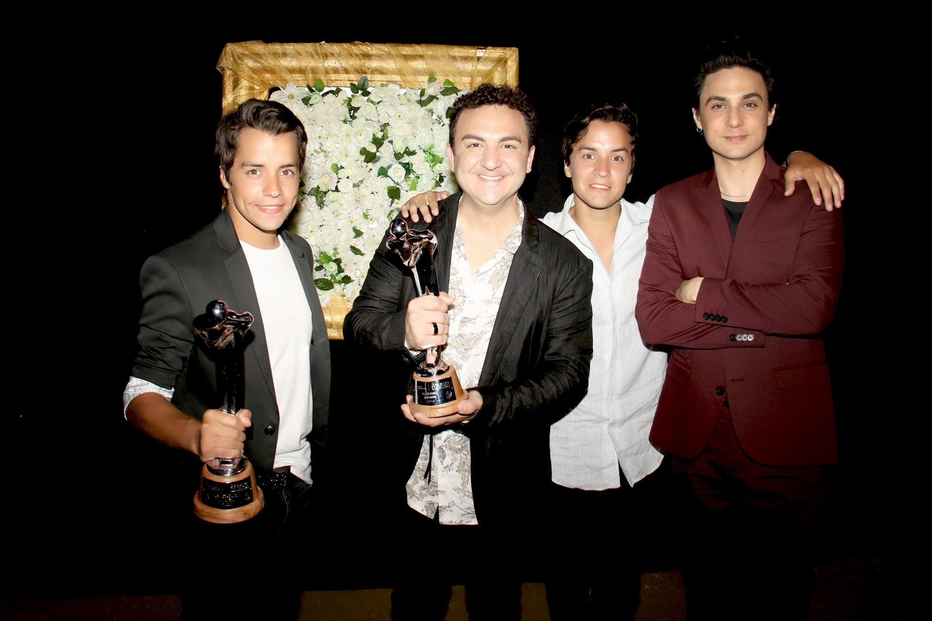 Diego Toma, una de las caras de Junior Express en Vivo, ganadora a Mejor Espectáculo Infantil